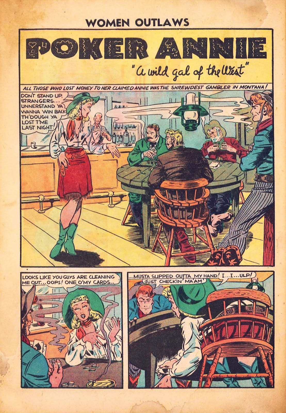 Read online Women Outlaws comic -  Issue #2 - 30