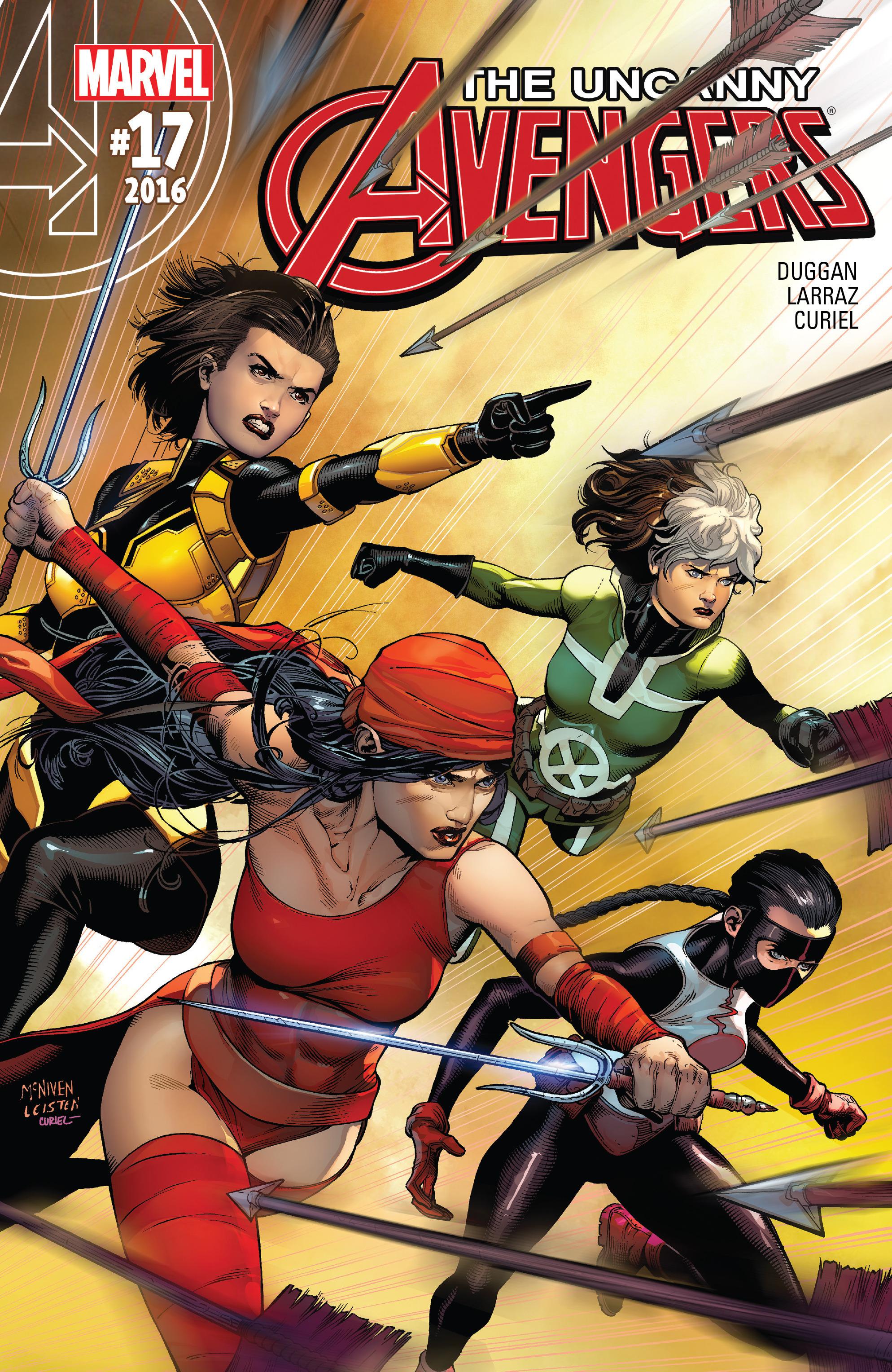 Read online Uncanny Avengers [II] comic -  Issue #17 - 1