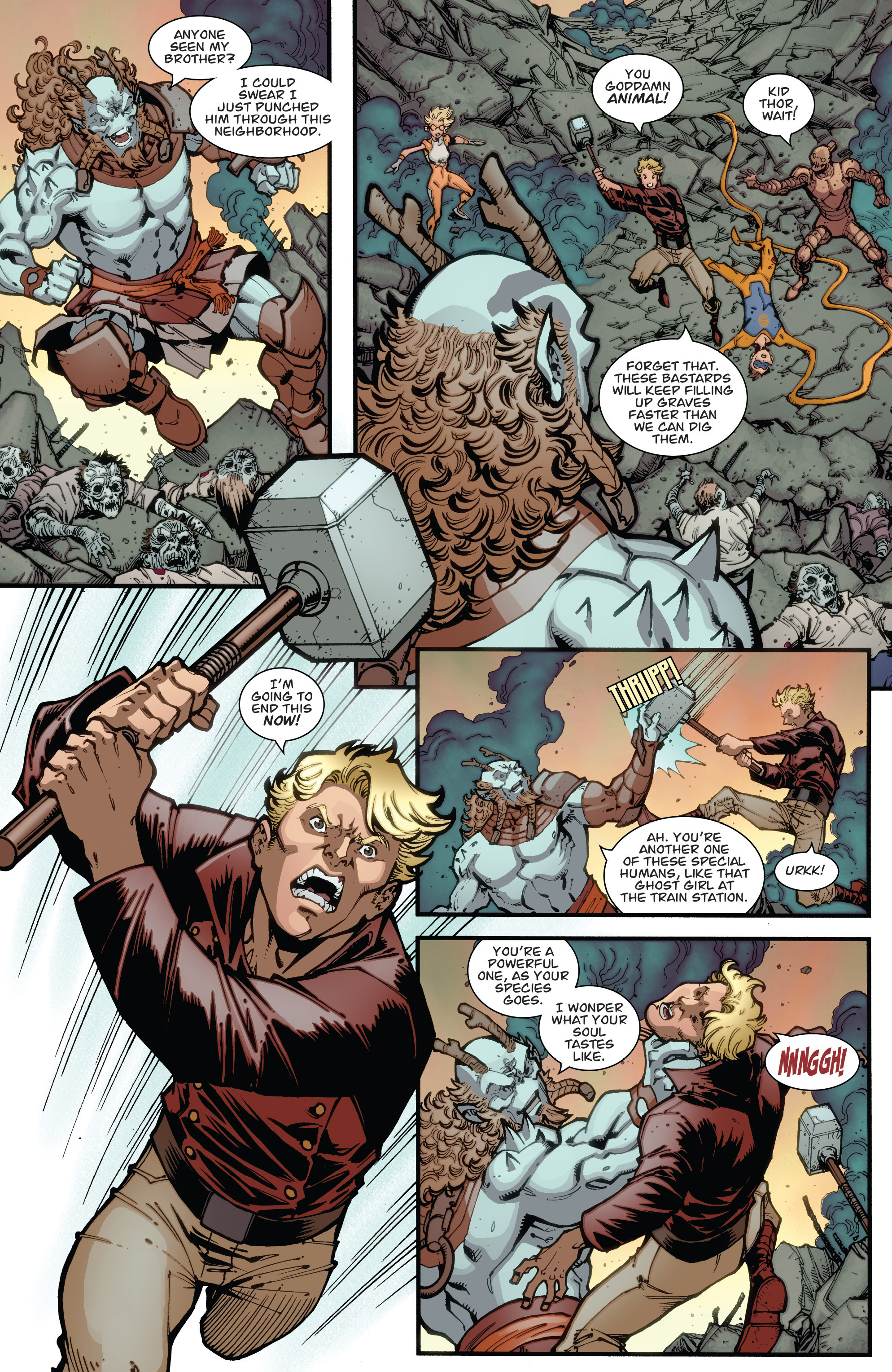 Read online Guarding the Globe (2012) comic -  Issue #6 - 7