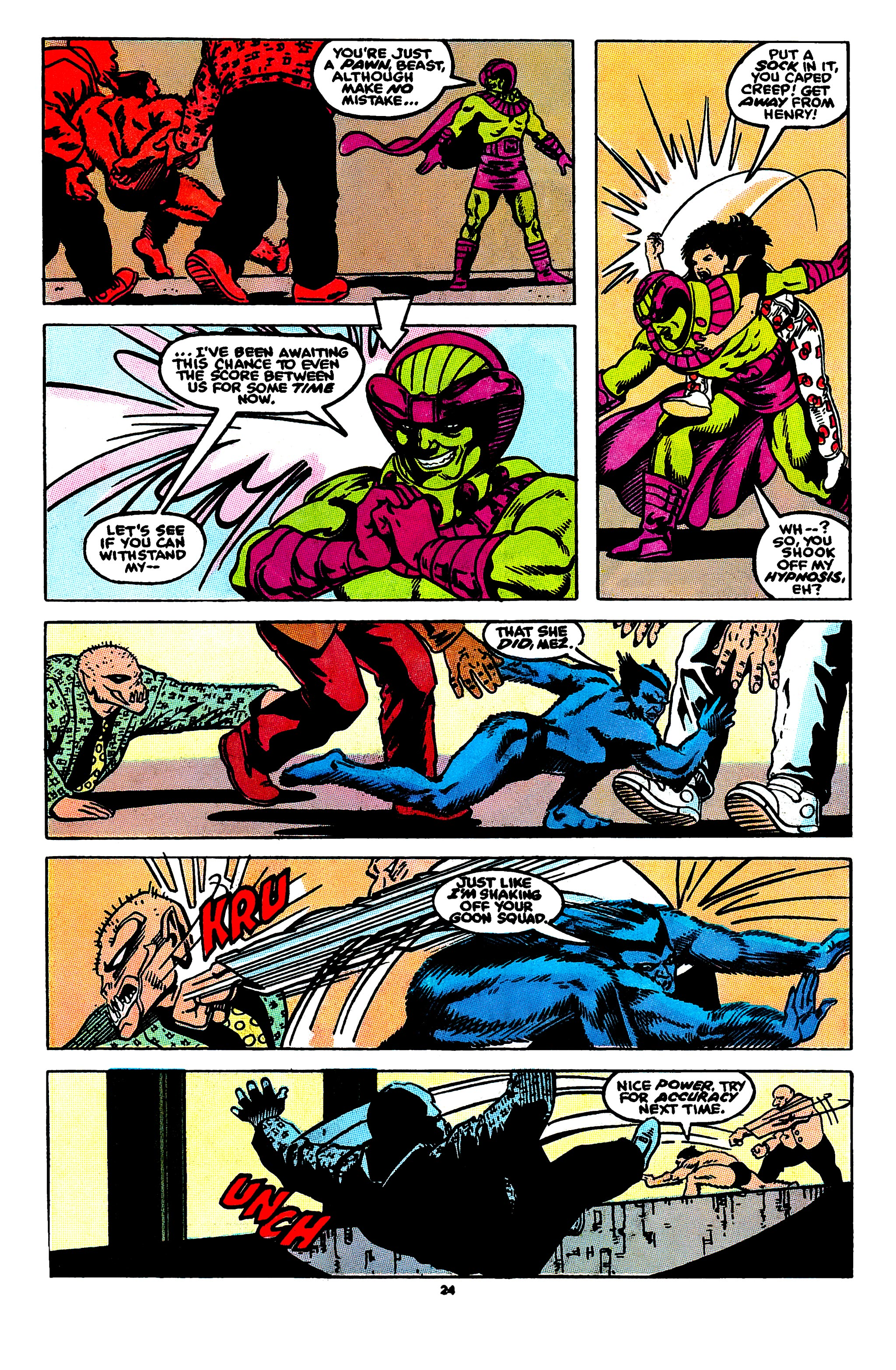 Read online X-Factor (1986) comic -  Issue #55 - 19