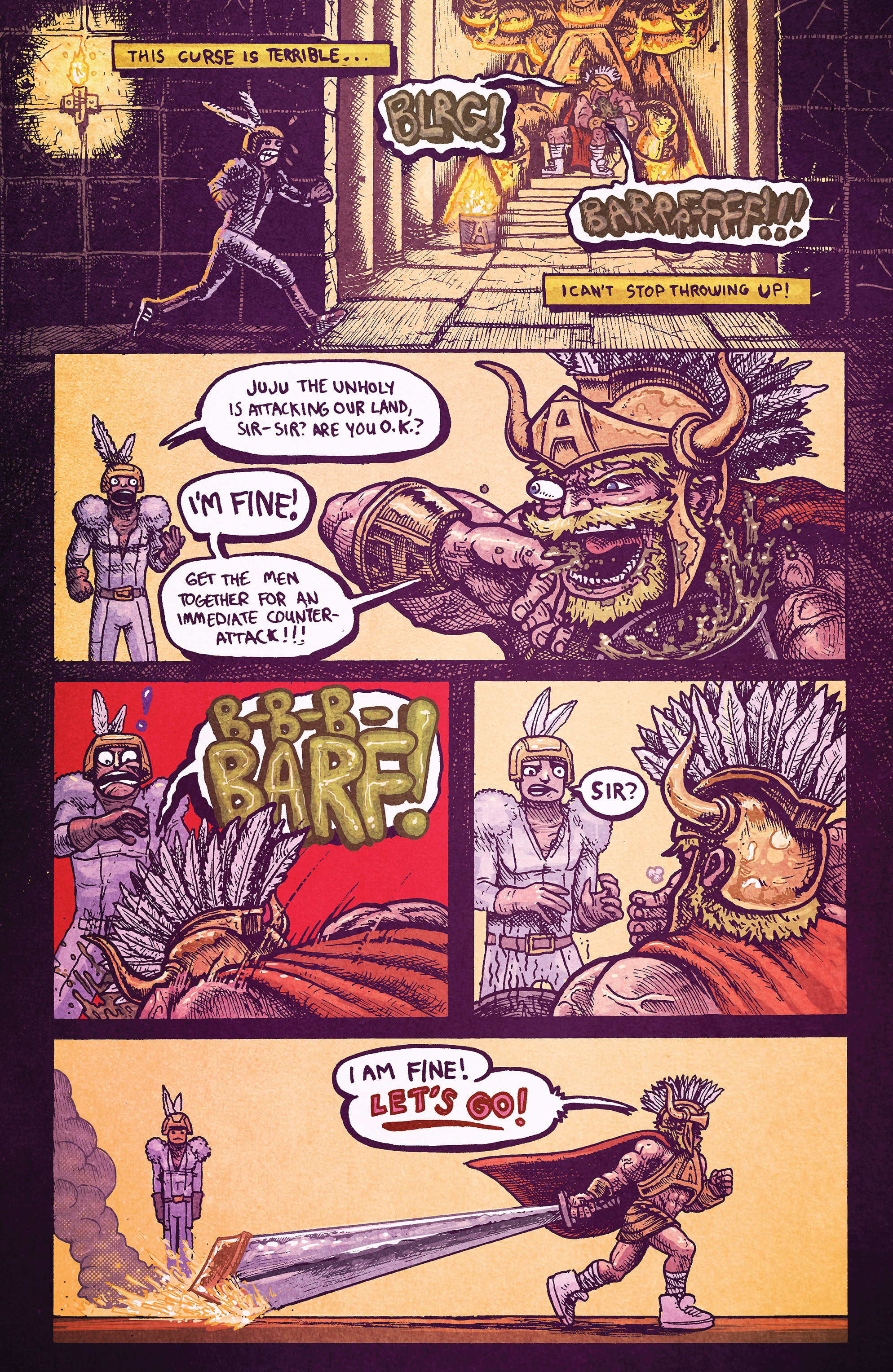 Read online Amazing Forest (2016) comic -  Issue #2 - 27