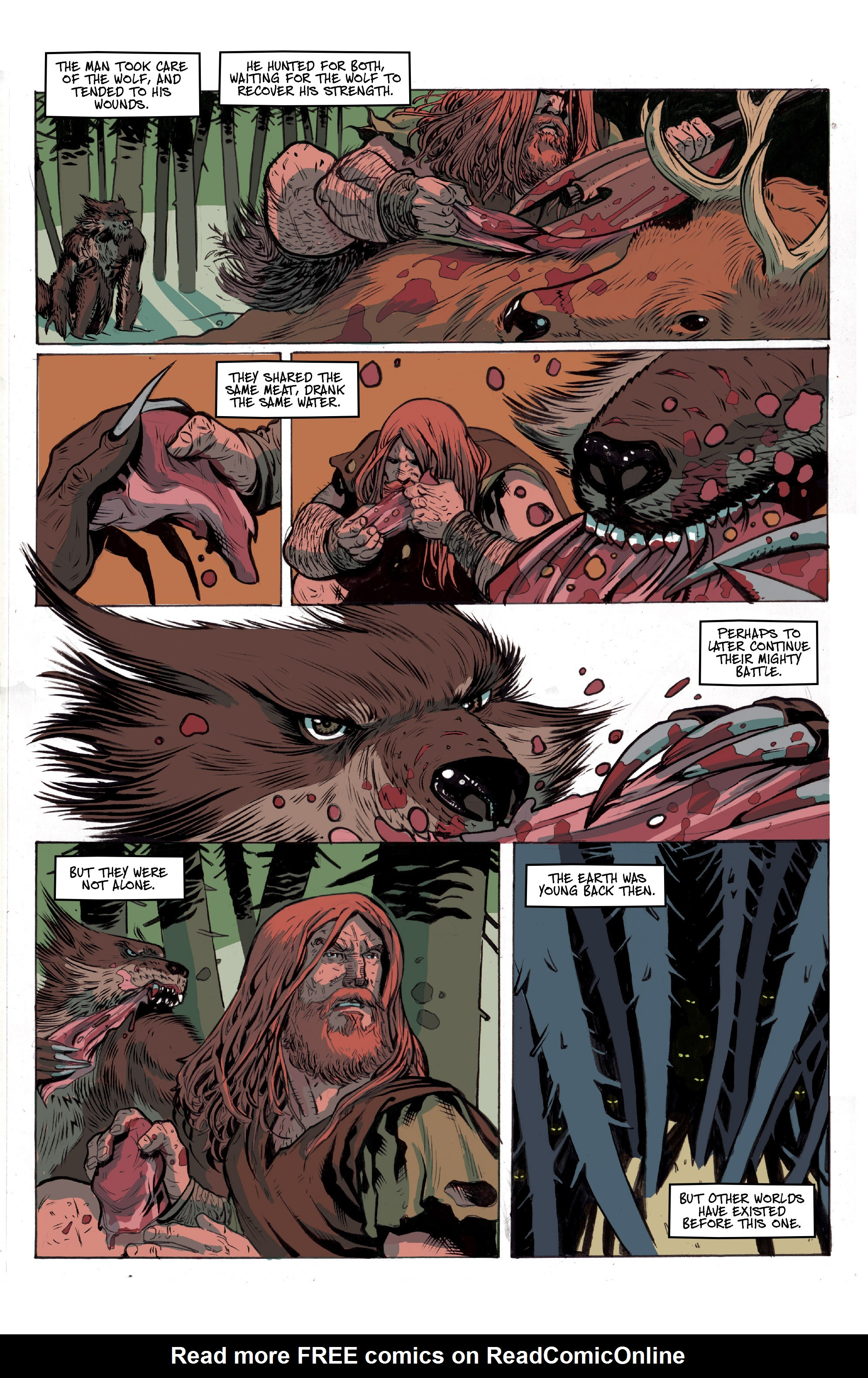 Read online Ghost Wolf comic -  Issue #1 - 5