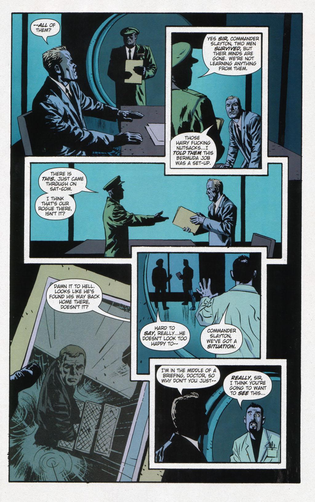 Read online Sleeper comic -  Issue #12 - 23