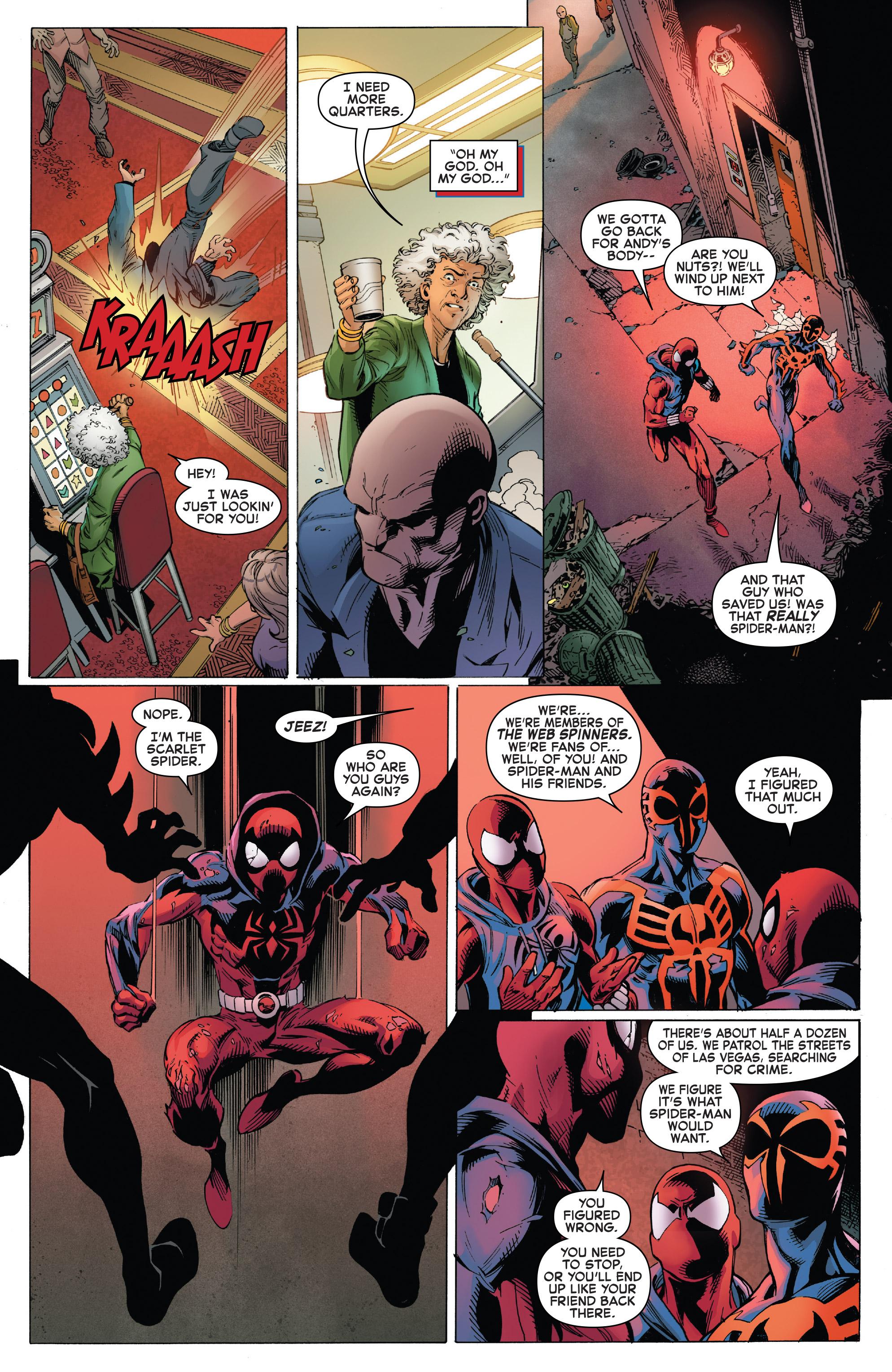 Read online Ben Reilly: Scarlet Spider comic -  Issue #3 - 21