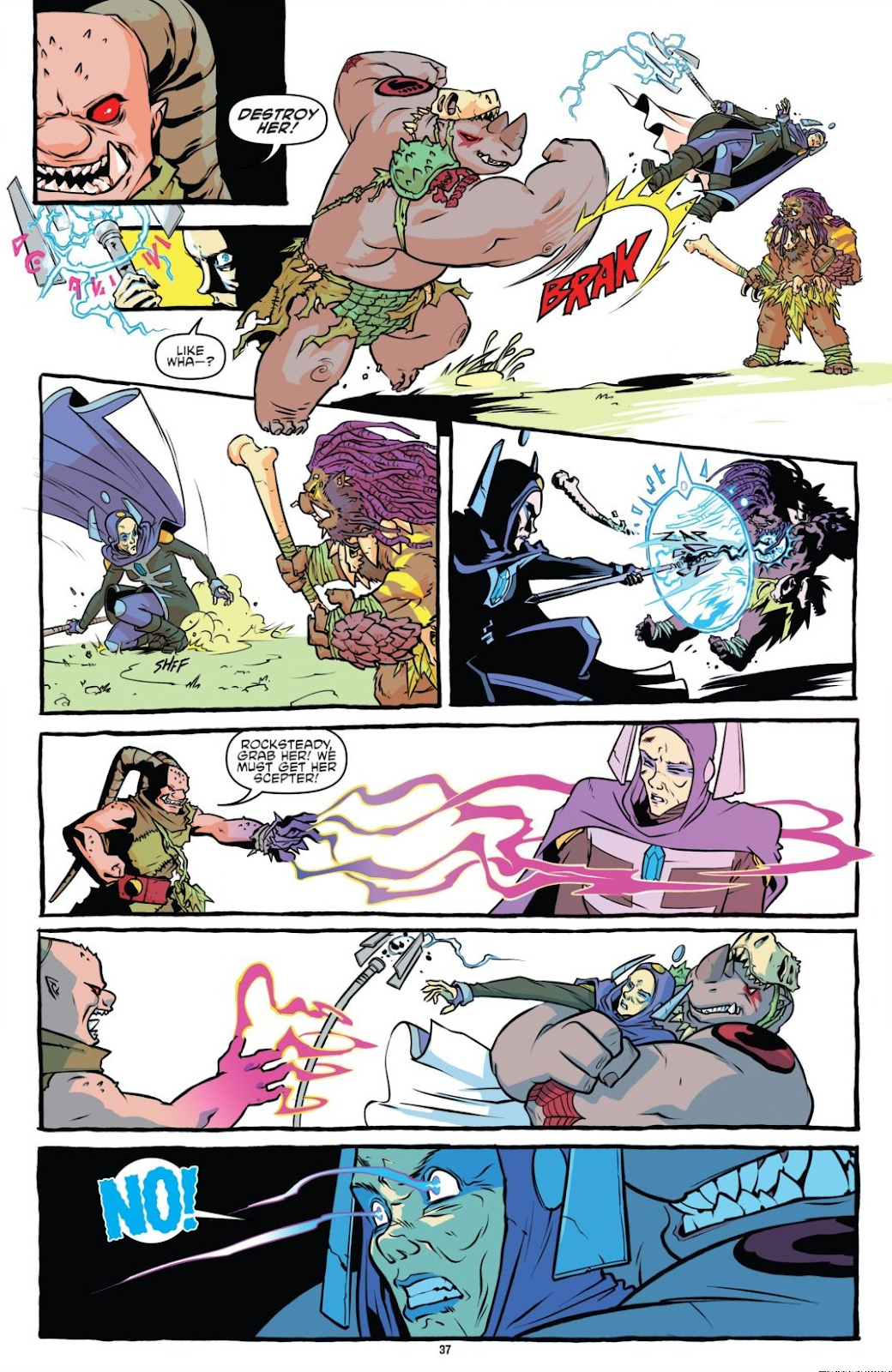 Read online Teenage Mutant Ninja Turtles: The IDW Collection comic -  Issue # TPB 8 (Part 1) - 37
