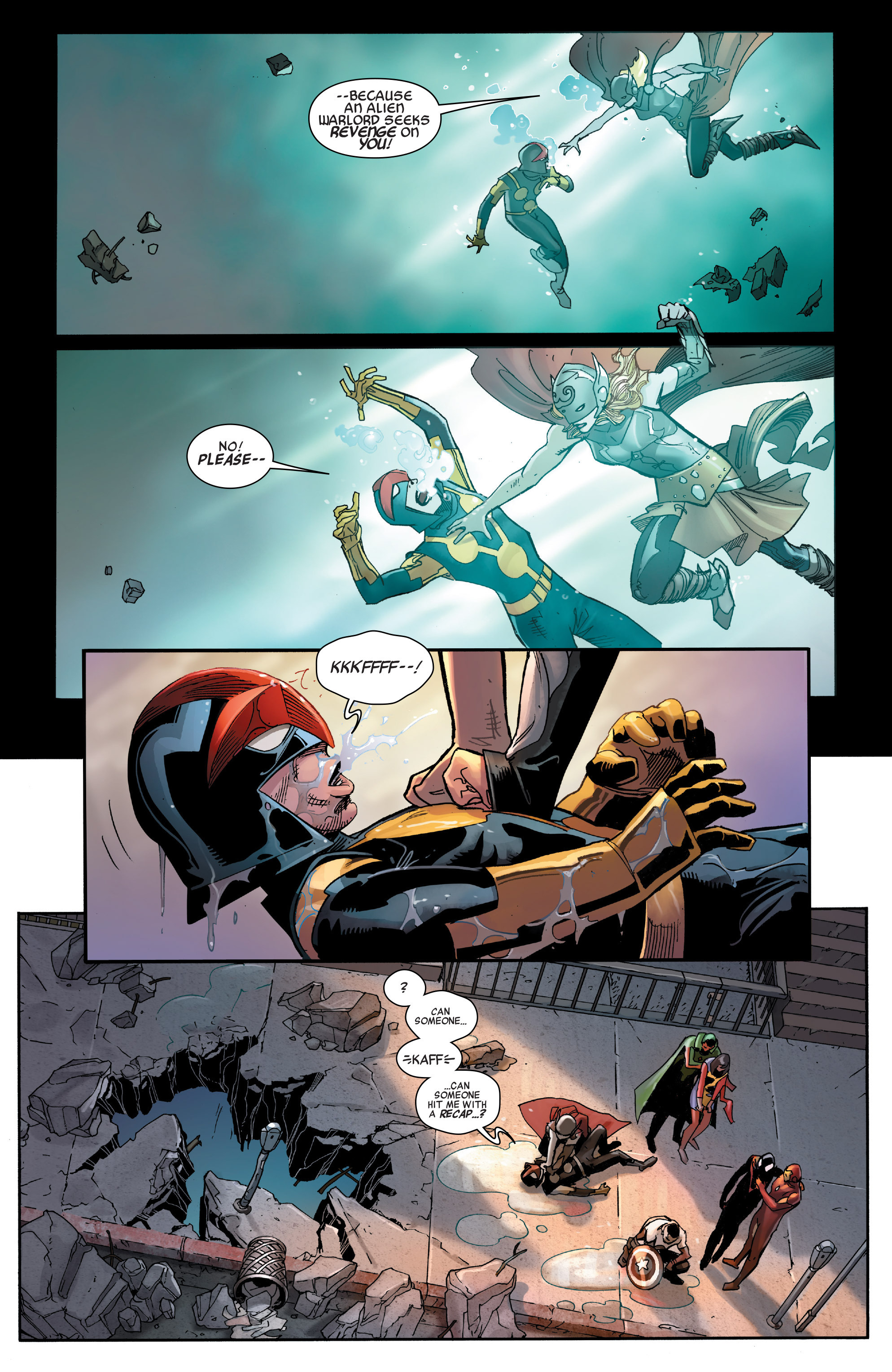 Read online All-New, All-Different Avengers comic -  Issue #3 - 3