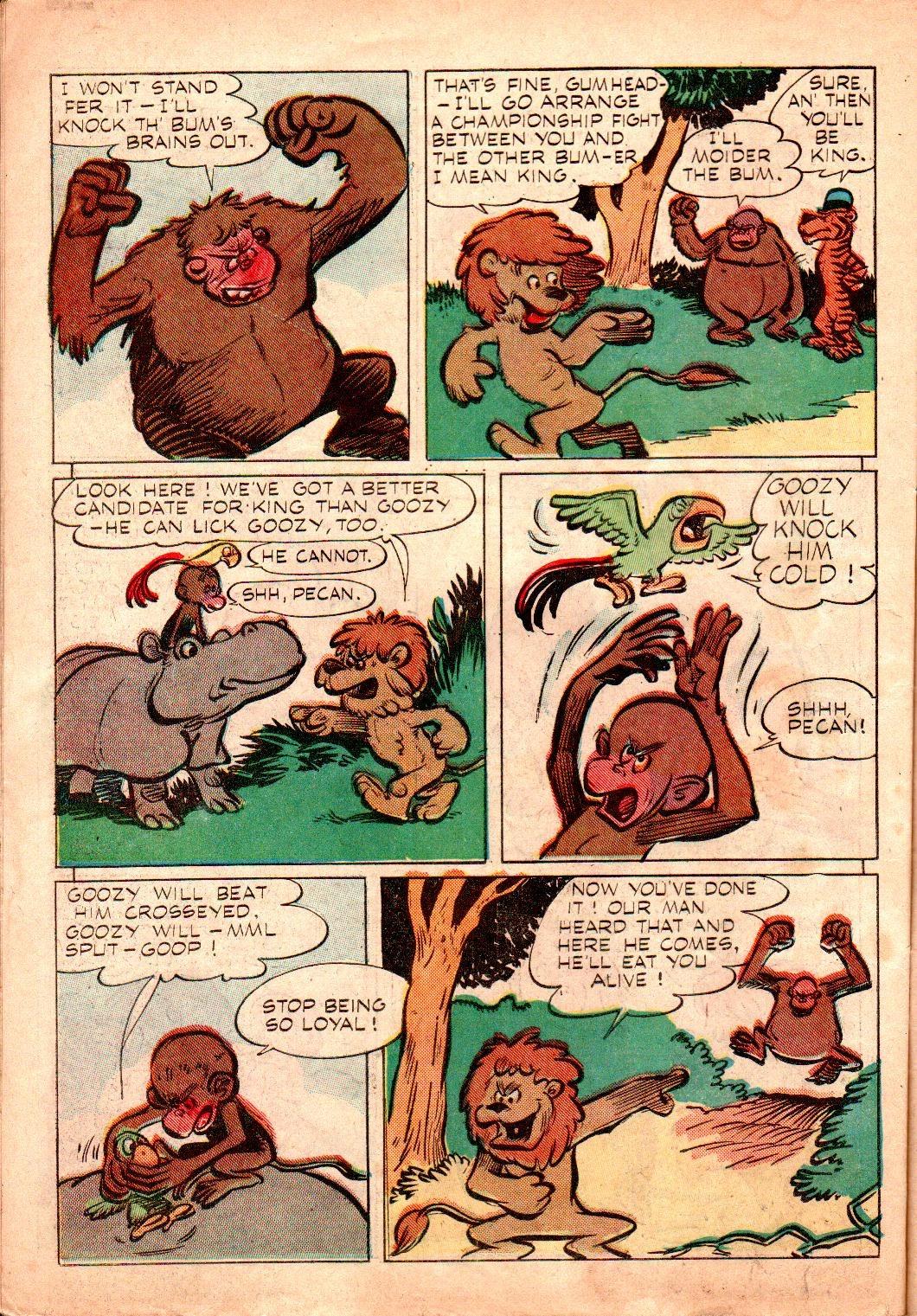 Read online Animal Comics comic -  Issue #19 - 34