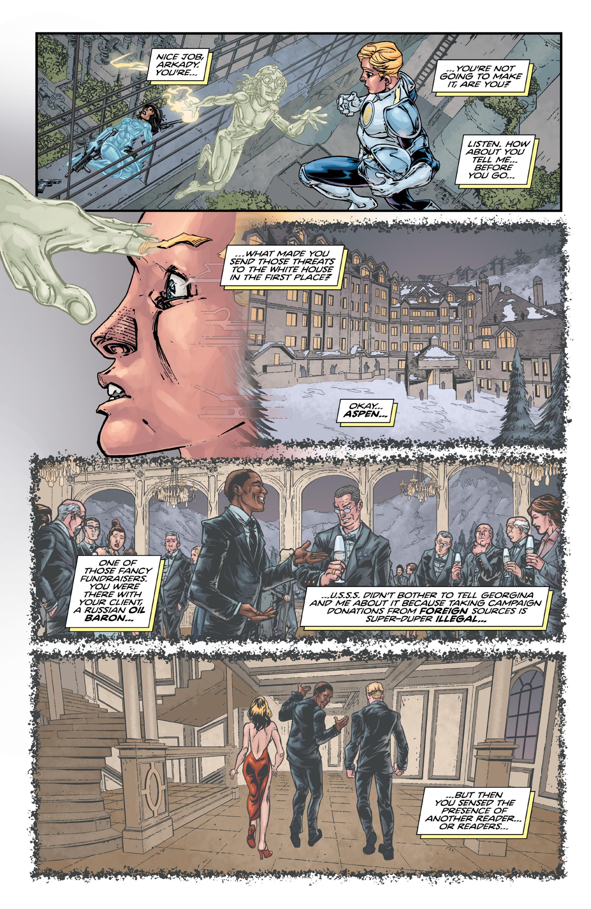 Read online Brain Boy:  The Men from G.E.S.T.A.L.T. comic -  Issue # TPB - 88