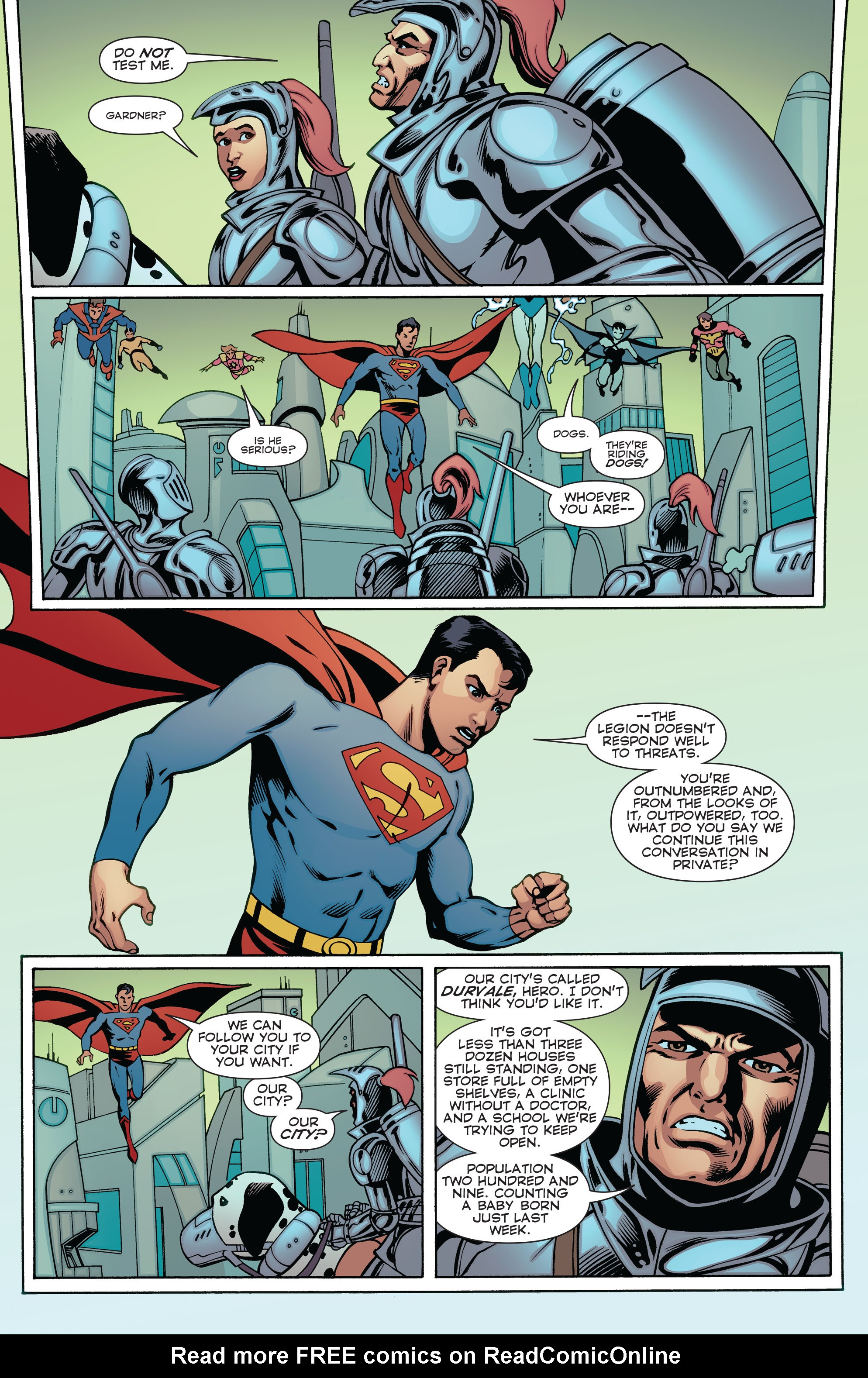 Read online Convergence Superboy and the Legion of Super-Heroes comic -  Issue #2 - 6