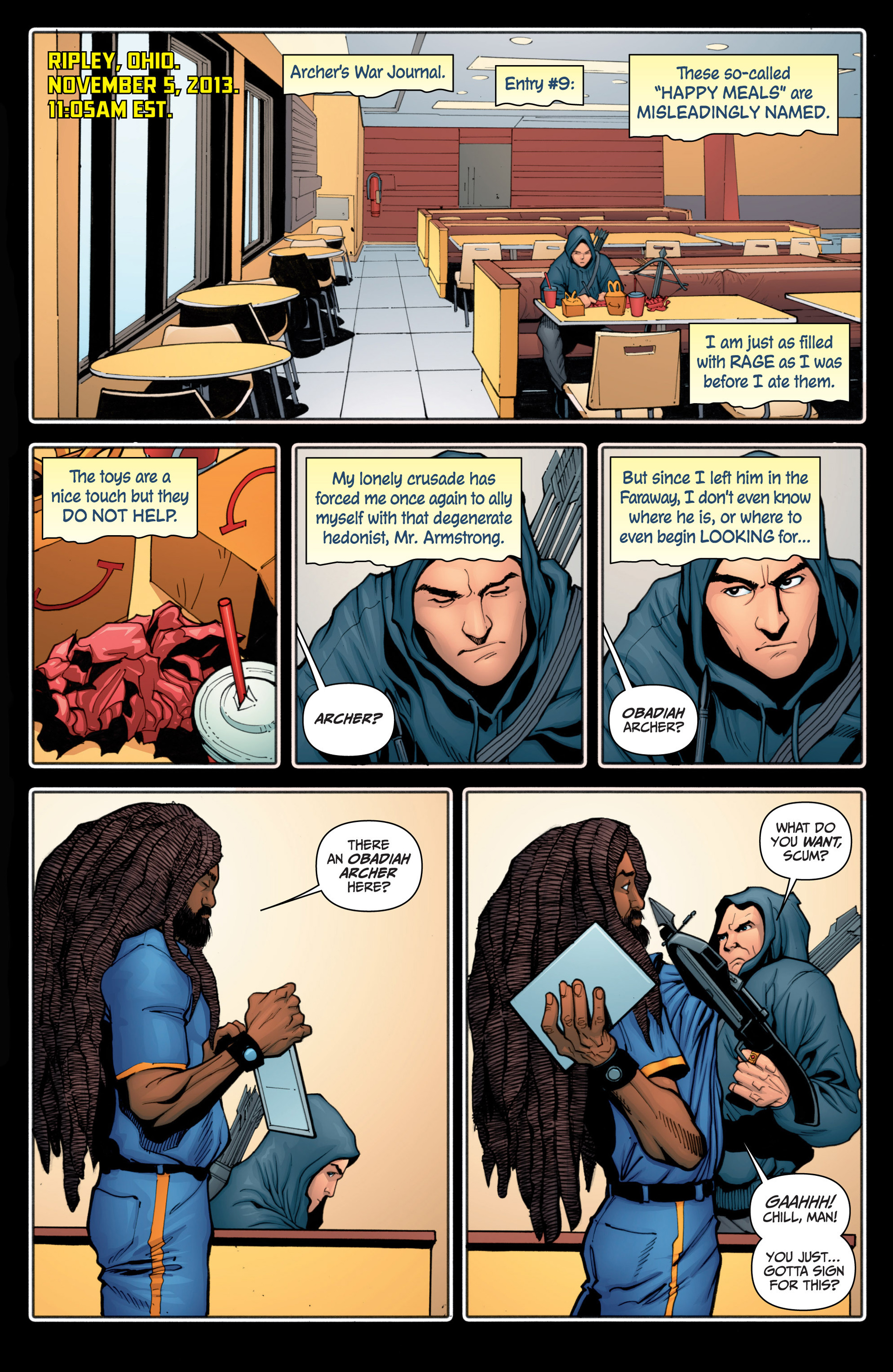 Read online Archer and Armstrong comic -  Issue #15 - 23