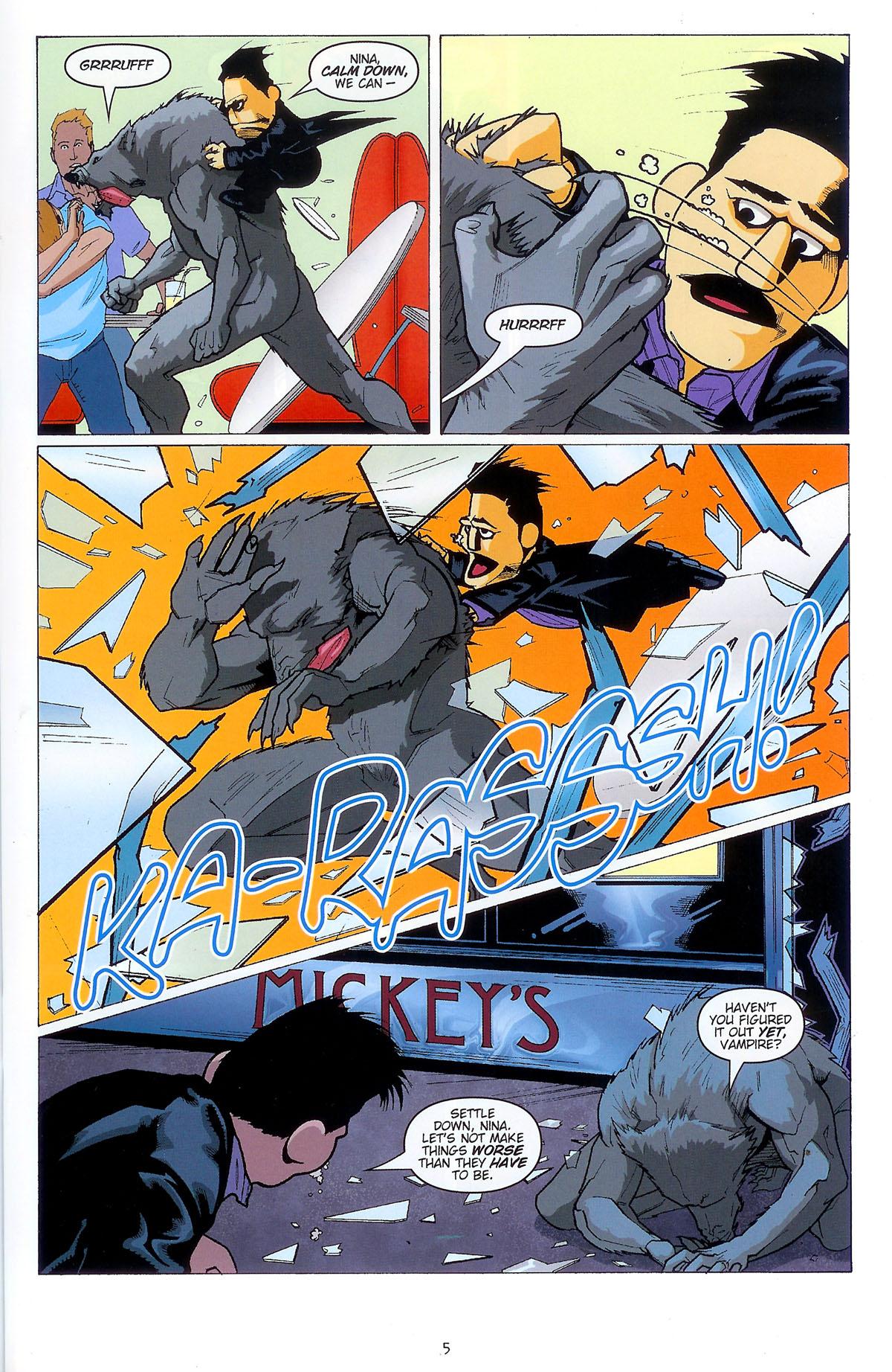 Read online Angel: Masks comic -  Issue # Full - 7