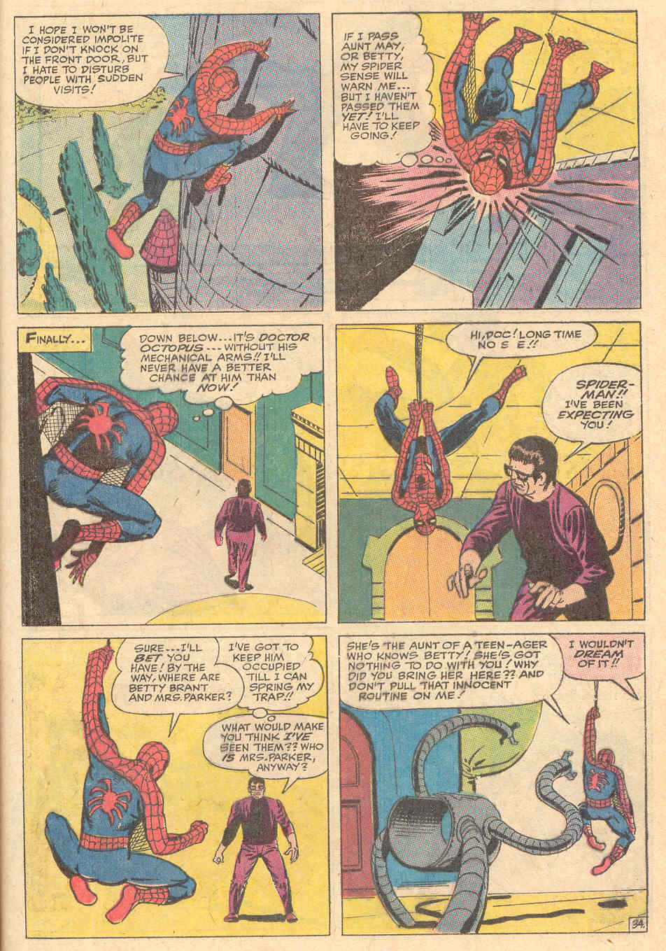 The Amazing Spider-Man (1963) _Annual_6 Page 34