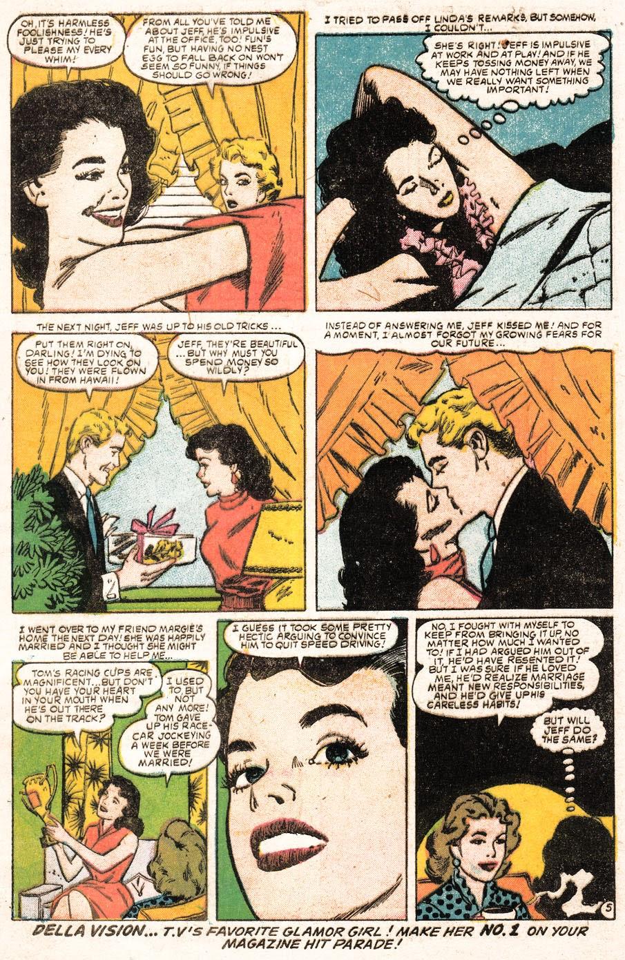 Love Romances (1949) issue 51 - Page 31
