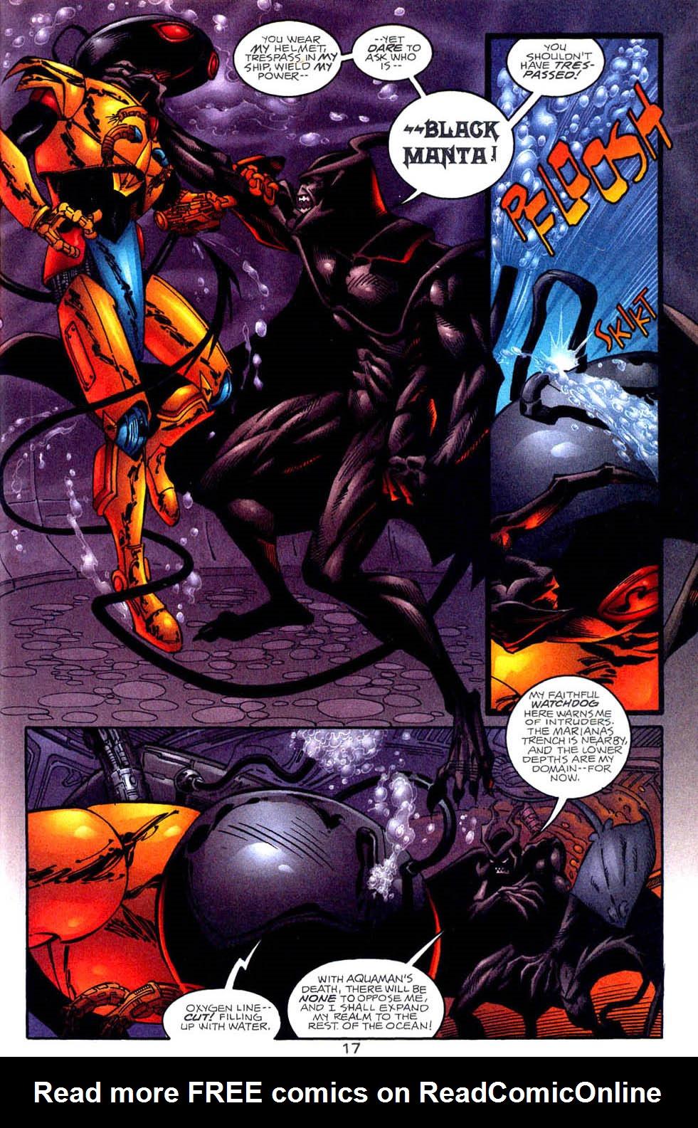 Read online Aquaman (1994) comic -  Issue #58 - 17