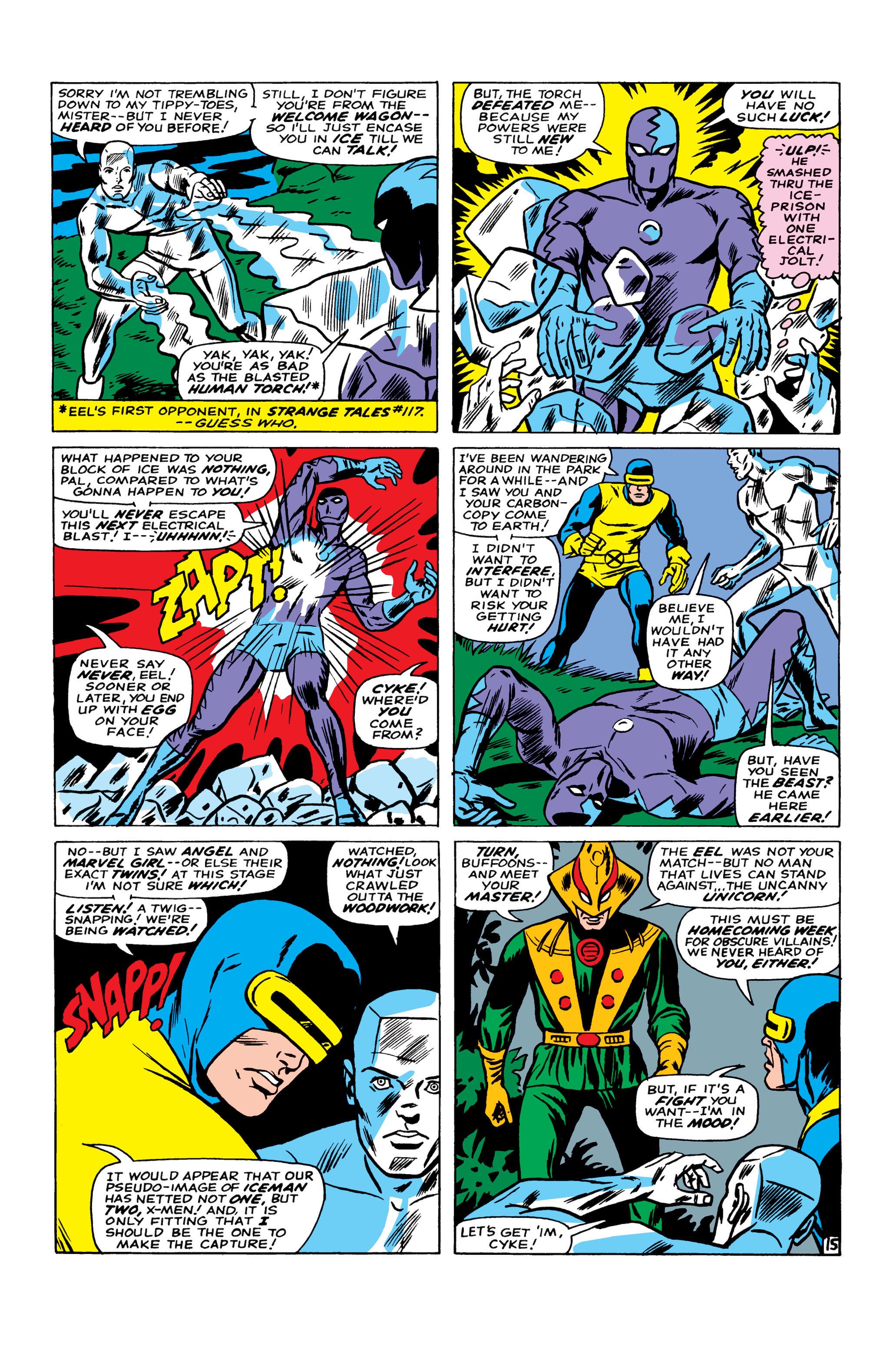 Read online Uncanny X-Men (1963) comic -  Issue #22 - 16