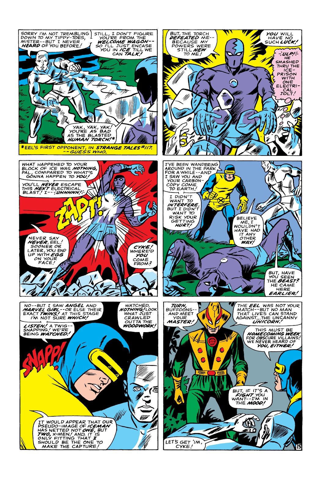 Uncanny X-Men (1963) issue 22 - Page 16