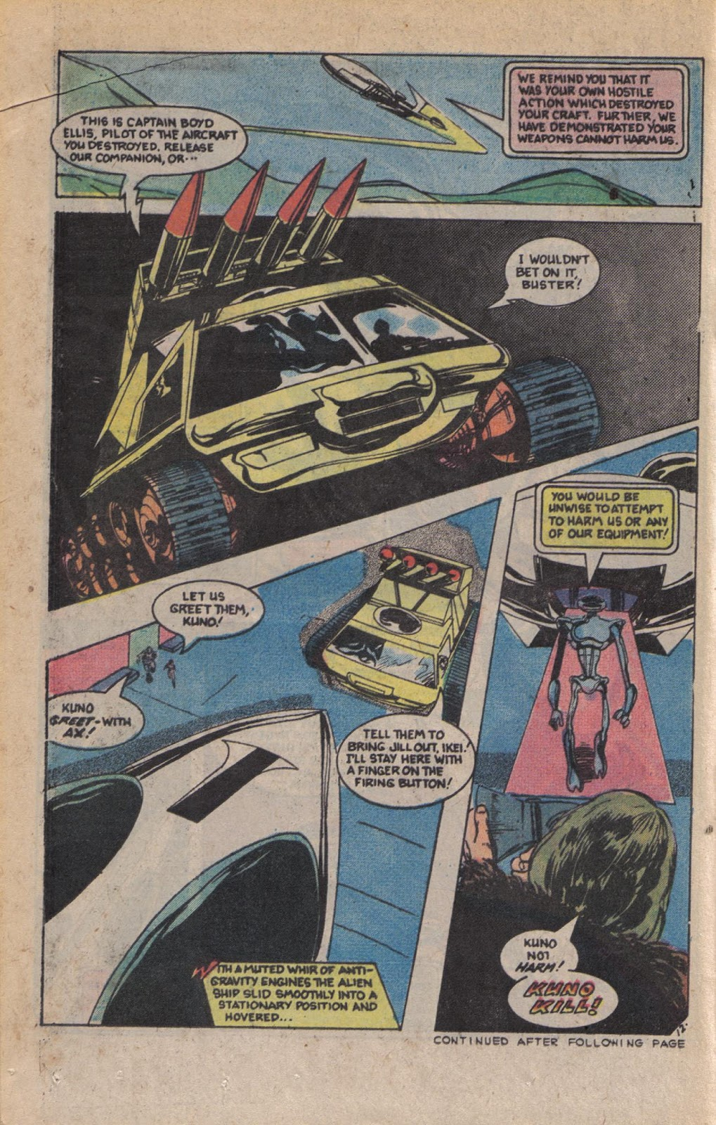Read online Doomsday   1 (1975) comic -  Issue #9 - 16