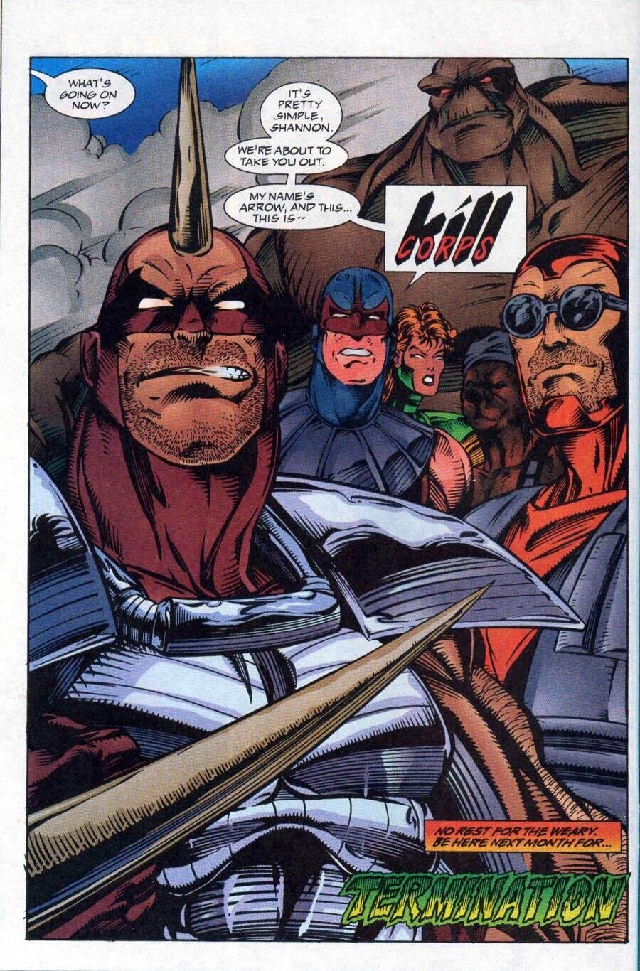 Read online Ex-Mutants comic -  Issue #17 - 25
