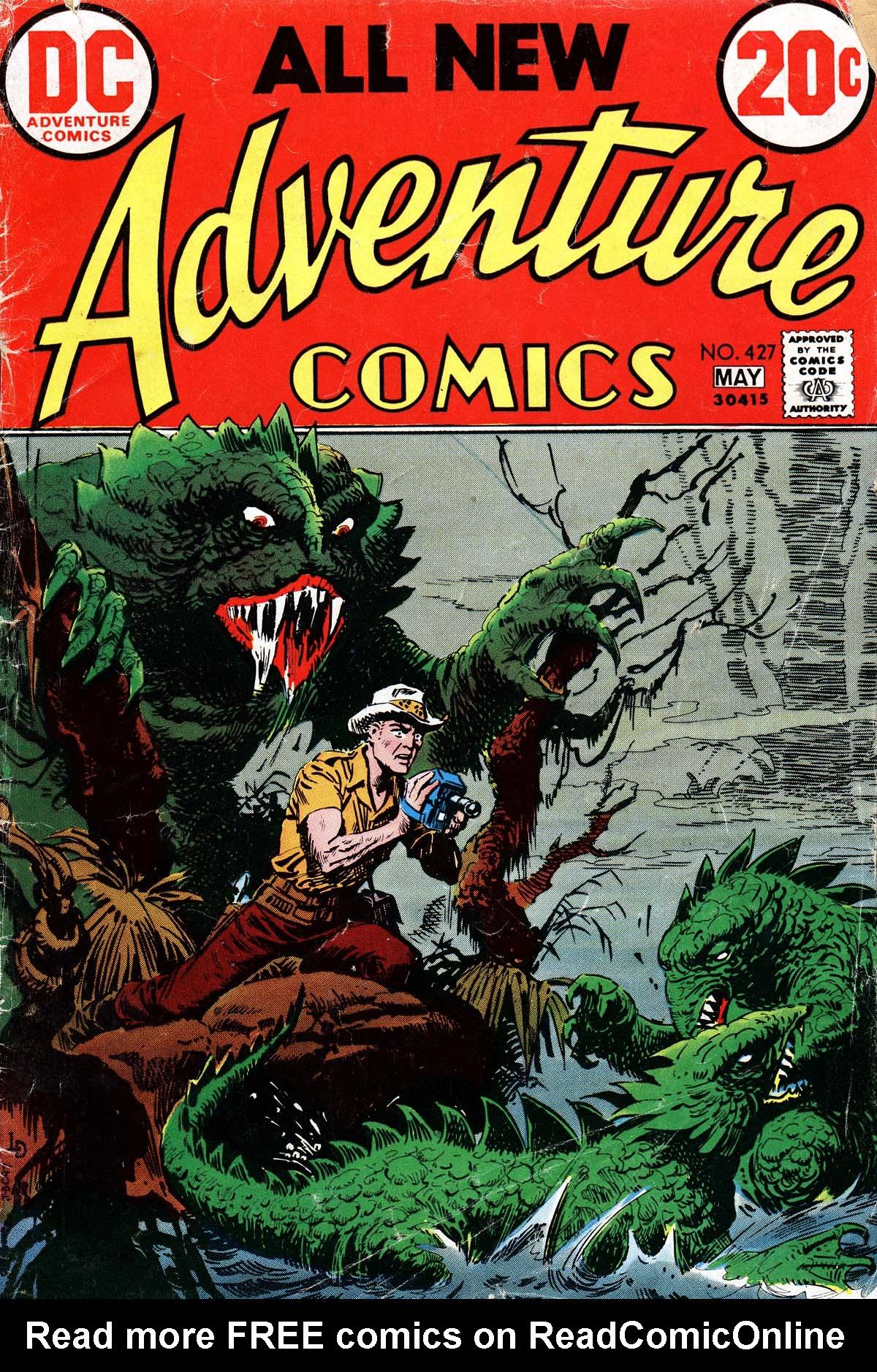 Read online Adventure Comics (1938) comic -  Issue #427 - 1