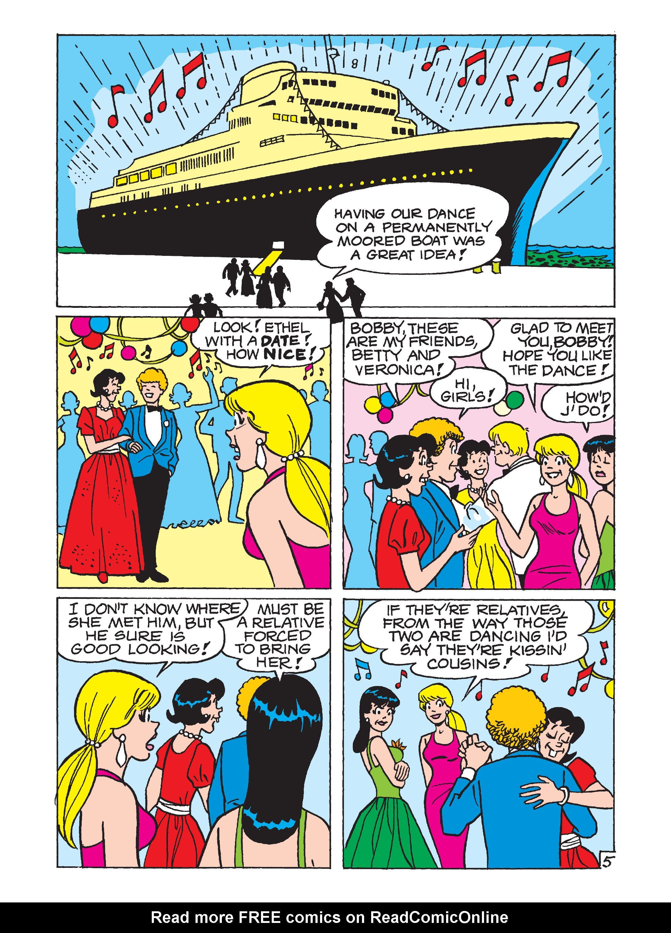 Read online Archie 75th Anniversary Digest comic -  Issue #5 - 142