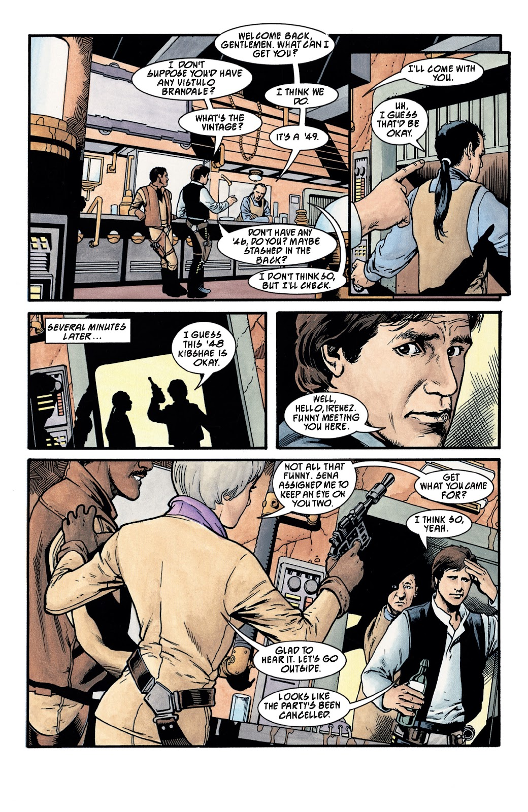 Read online Star Wars Legends: The New Republic - Epic Collection comic -  Issue # TPB 4 (Part 3) - 21