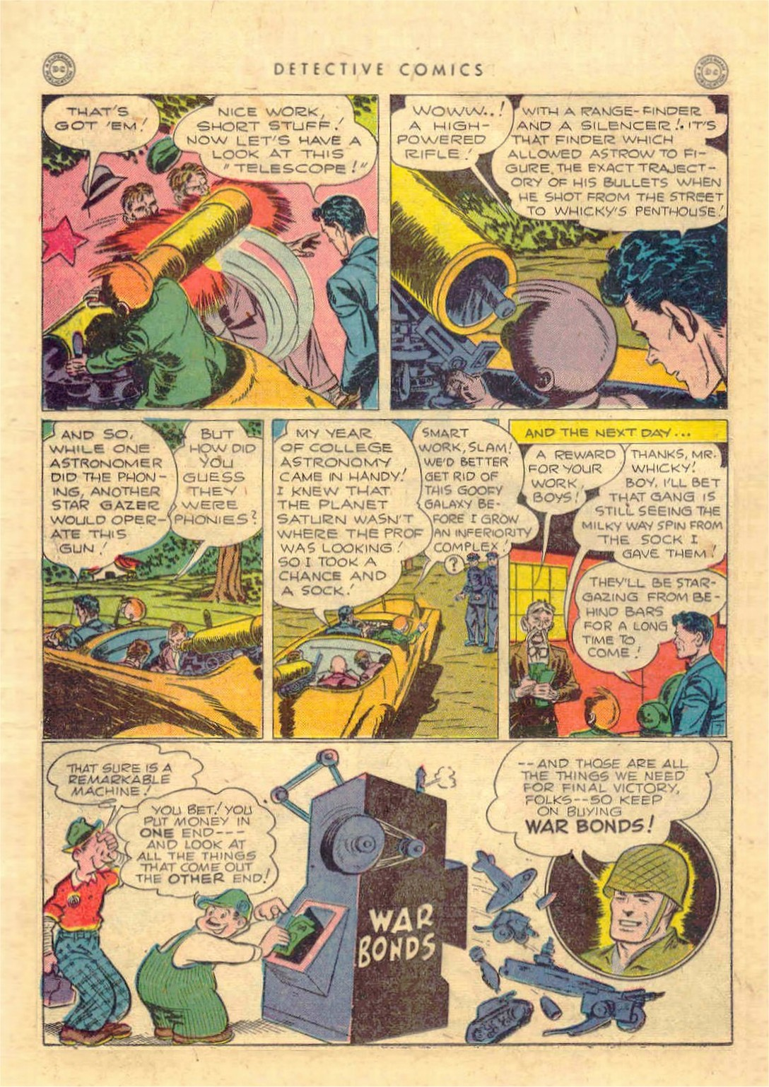 Read online Detective Comics (1937) comic -  Issue #97 - 22