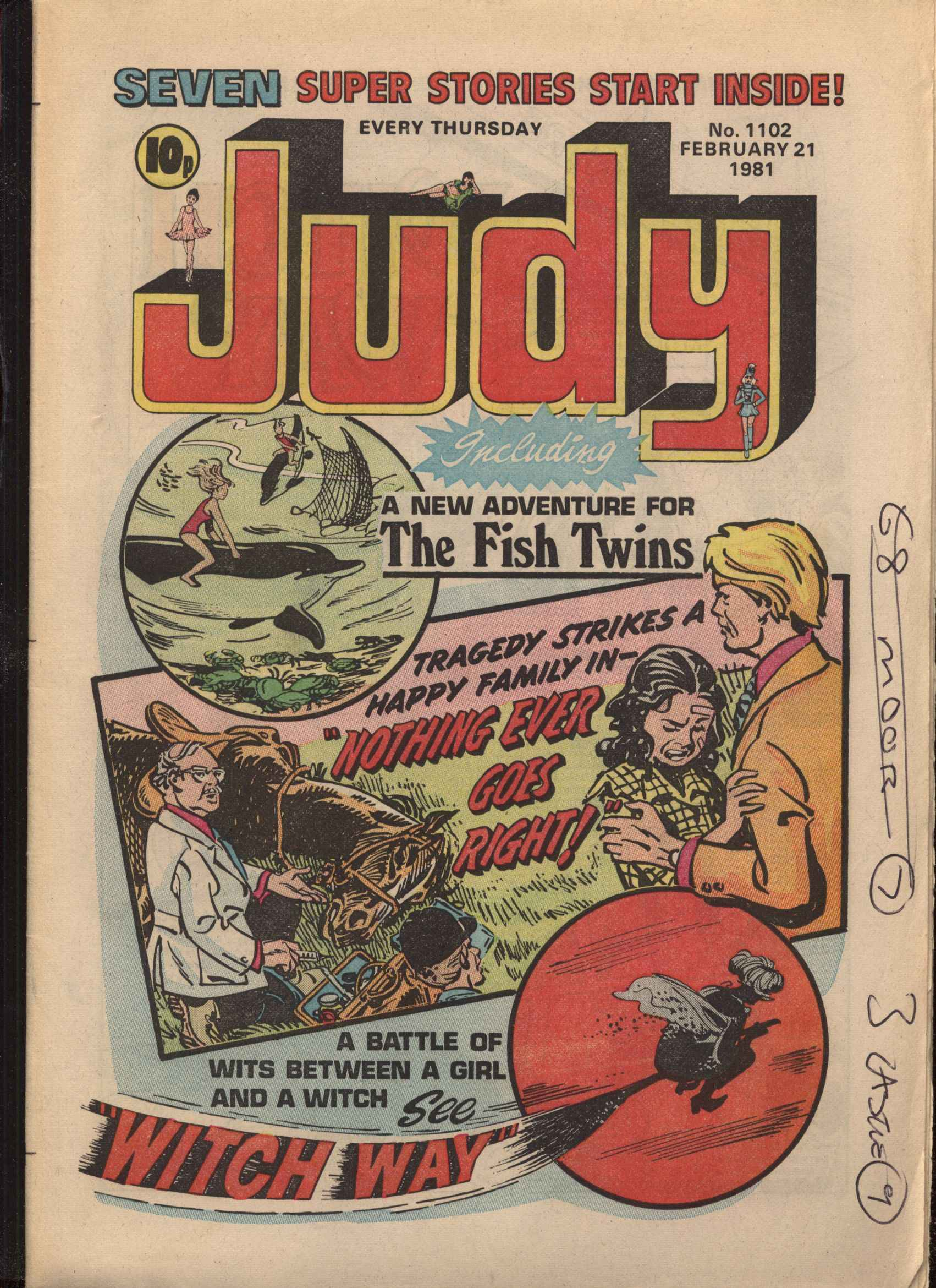 Read online Judy comic -  Issue #1102 - 1