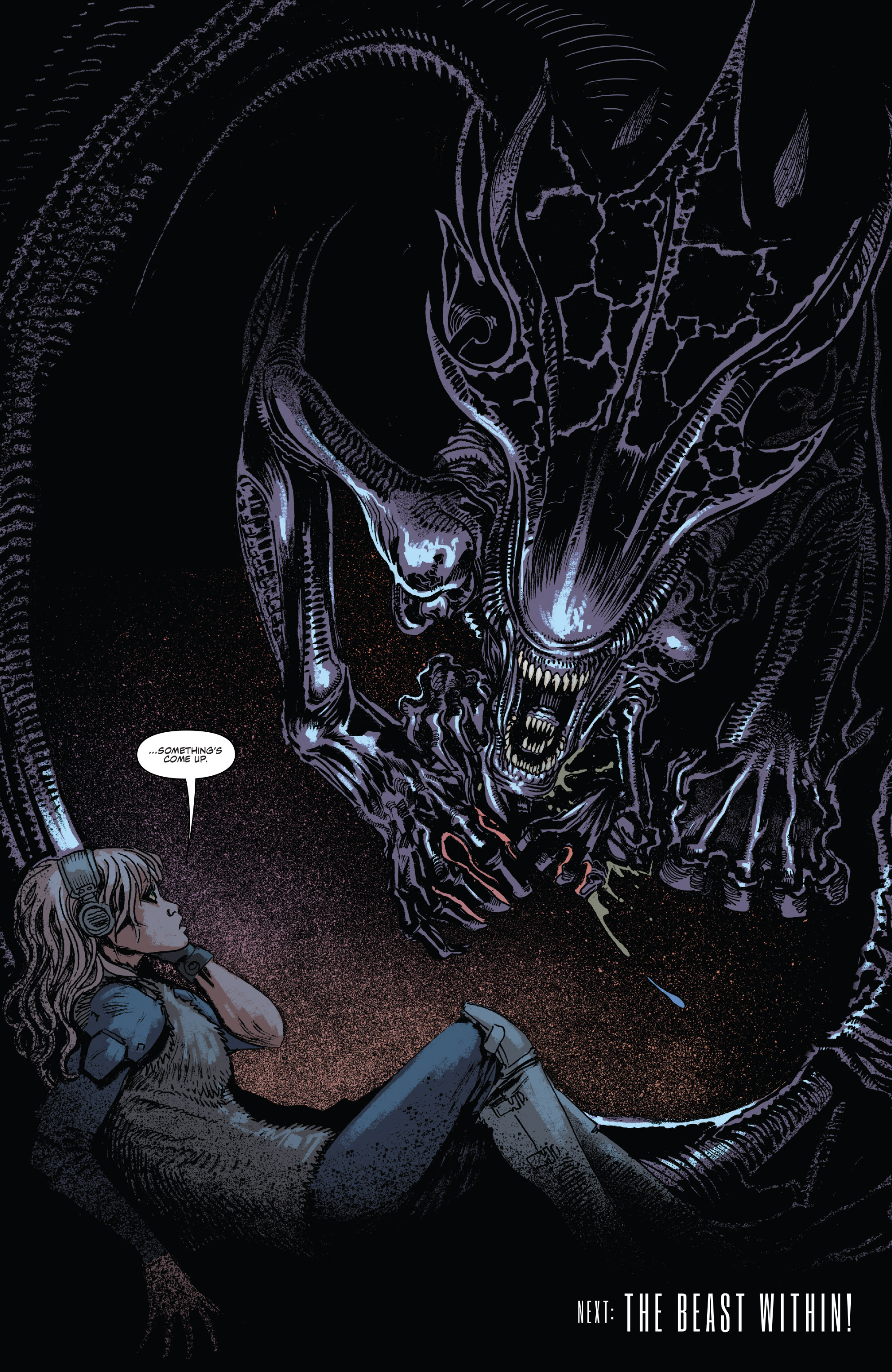 Read online Aliens: Life And Death comic -  Issue #2 - 24