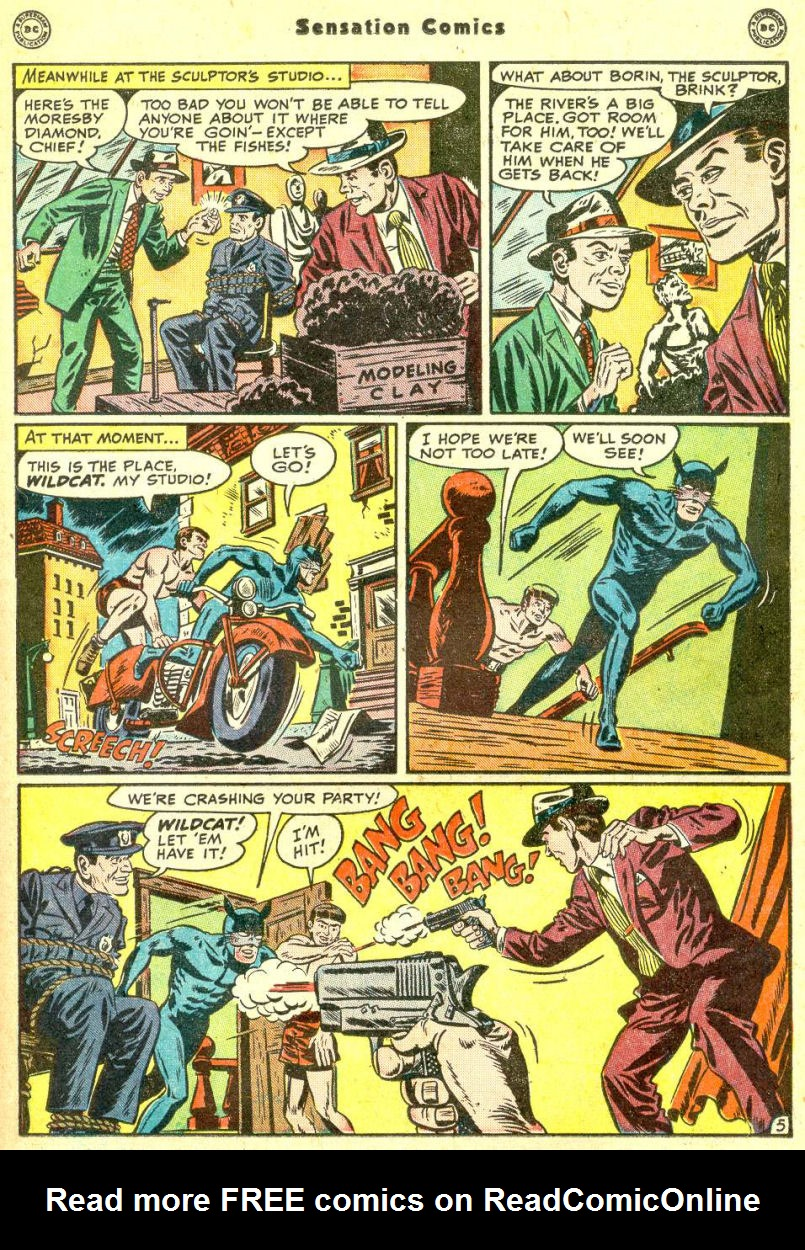 Read online Sensation (Mystery) Comics comic -  Issue #87 - 21