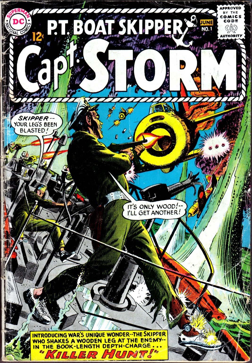 Capt. Storm 1 Page 1