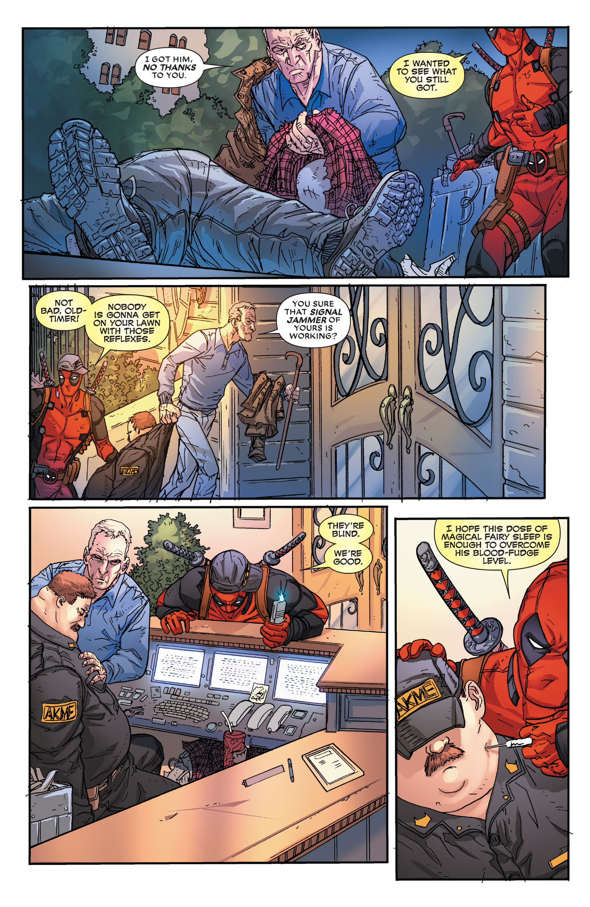 Read online Death of Wolverine: Deadpool & Captain America comic -  Issue # Full - 13