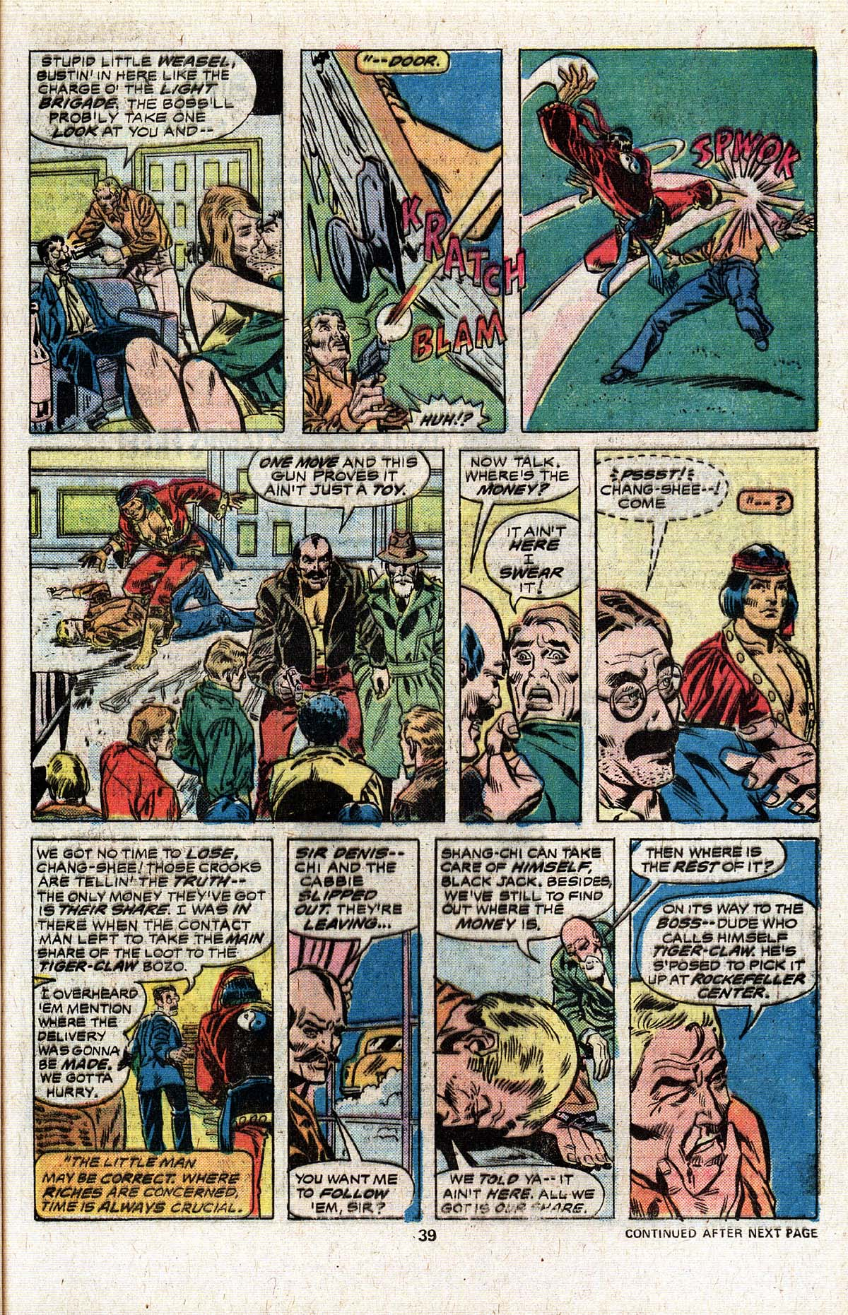 Read online Giant-Size Master of Kung Fu comic -  Issue #4 - 32
