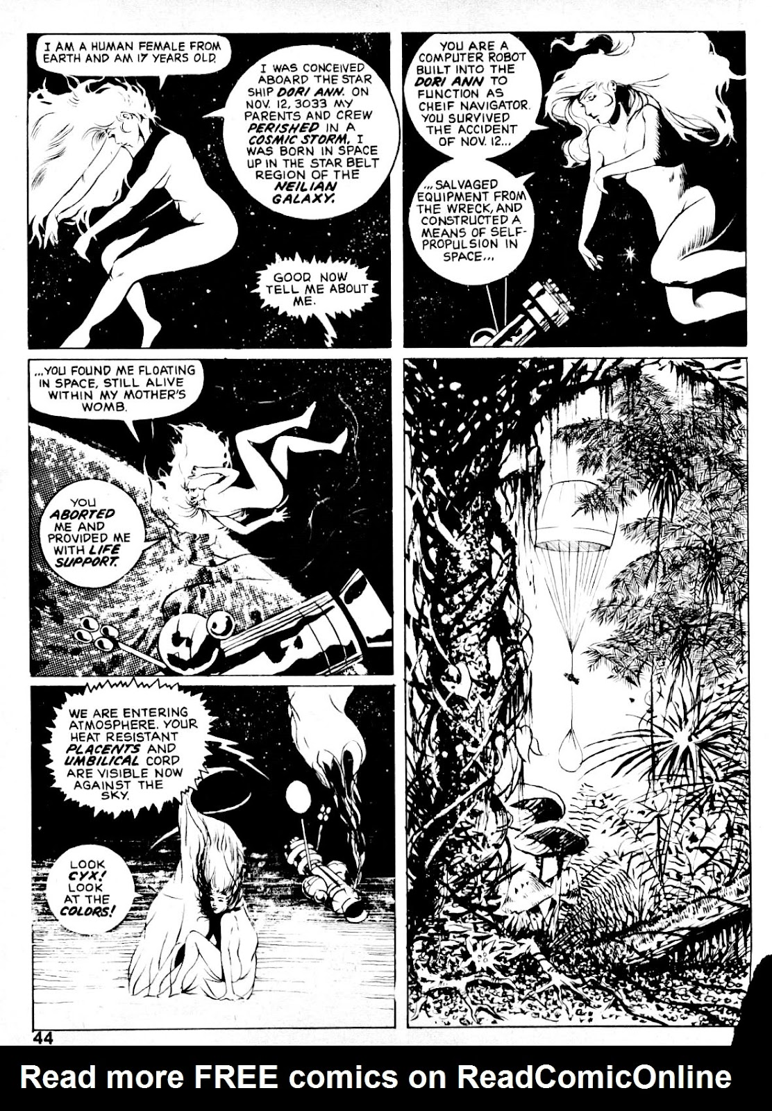 Nightmare (1970) issue 14 - Page 42