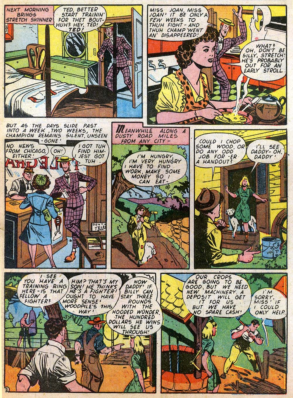 Read online Sensation (Mystery) Comics comic -  Issue #27 - 51