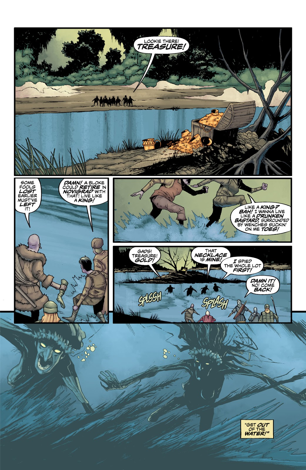Read online The Witcher Omnibus comic -  Issue # TPB (Part 2) - 81