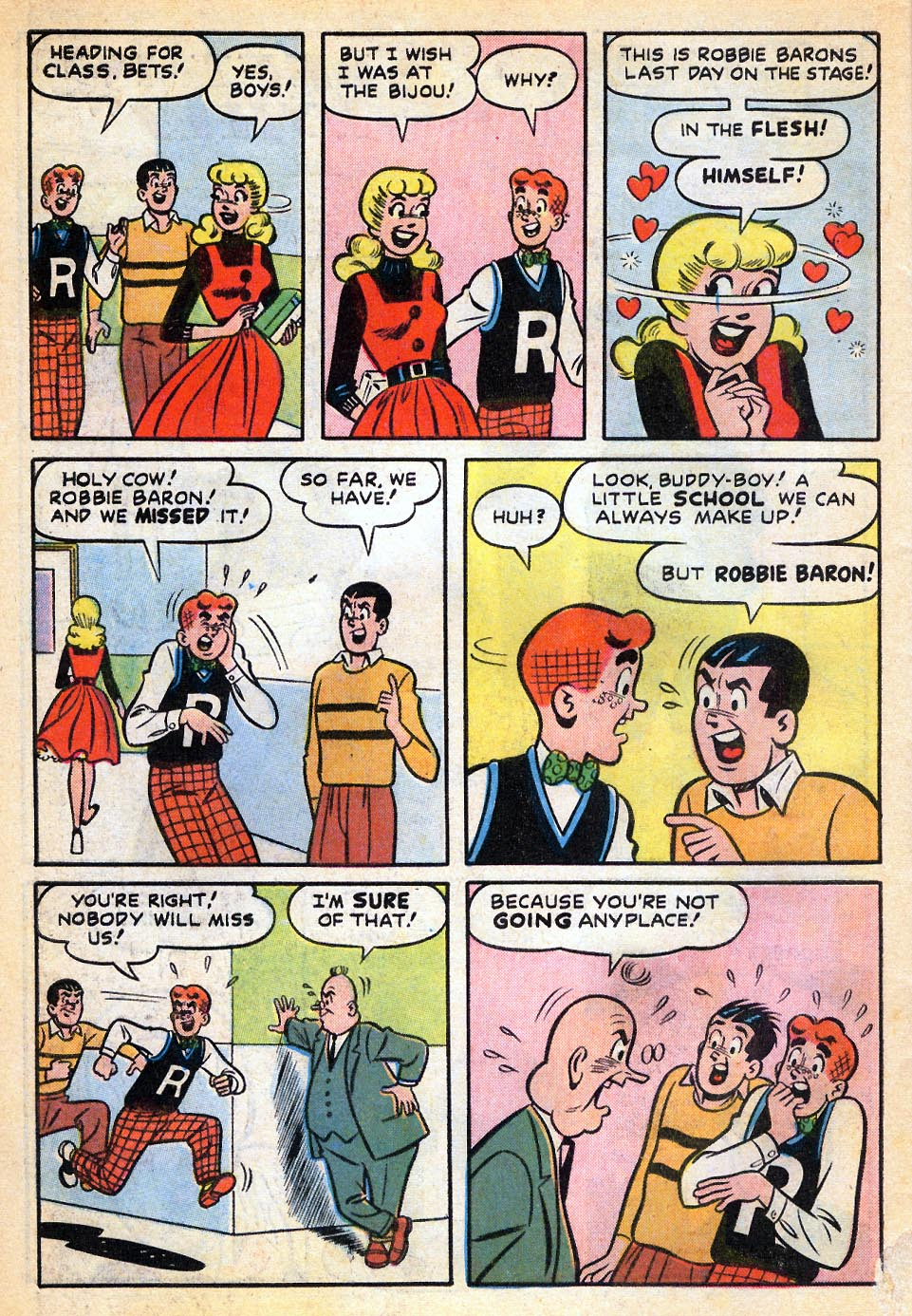 Read online Archie's Girls Betty and Veronica comic -  Issue #51 - 29