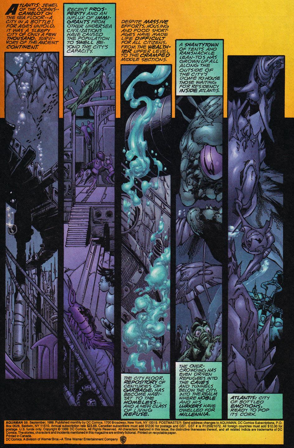 Read online Aquaman (1994) comic -  Issue #59 - 2