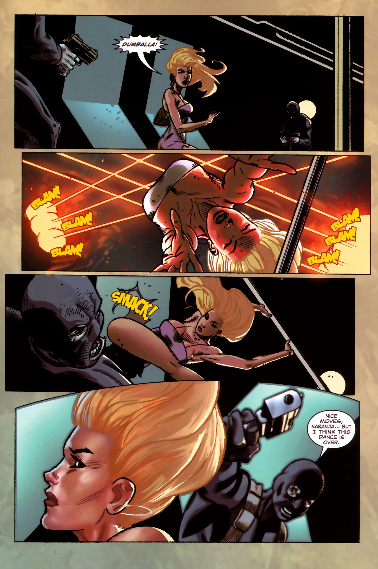 Read online Sheena Queen of the Jungle: Dark Rising comic -  Issue #1 - 13