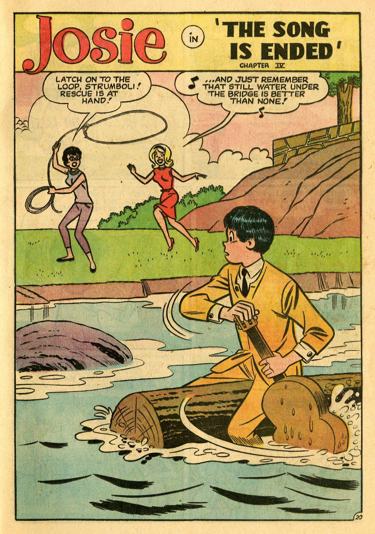 Read online She's Josie comic -  Issue #7 - 29