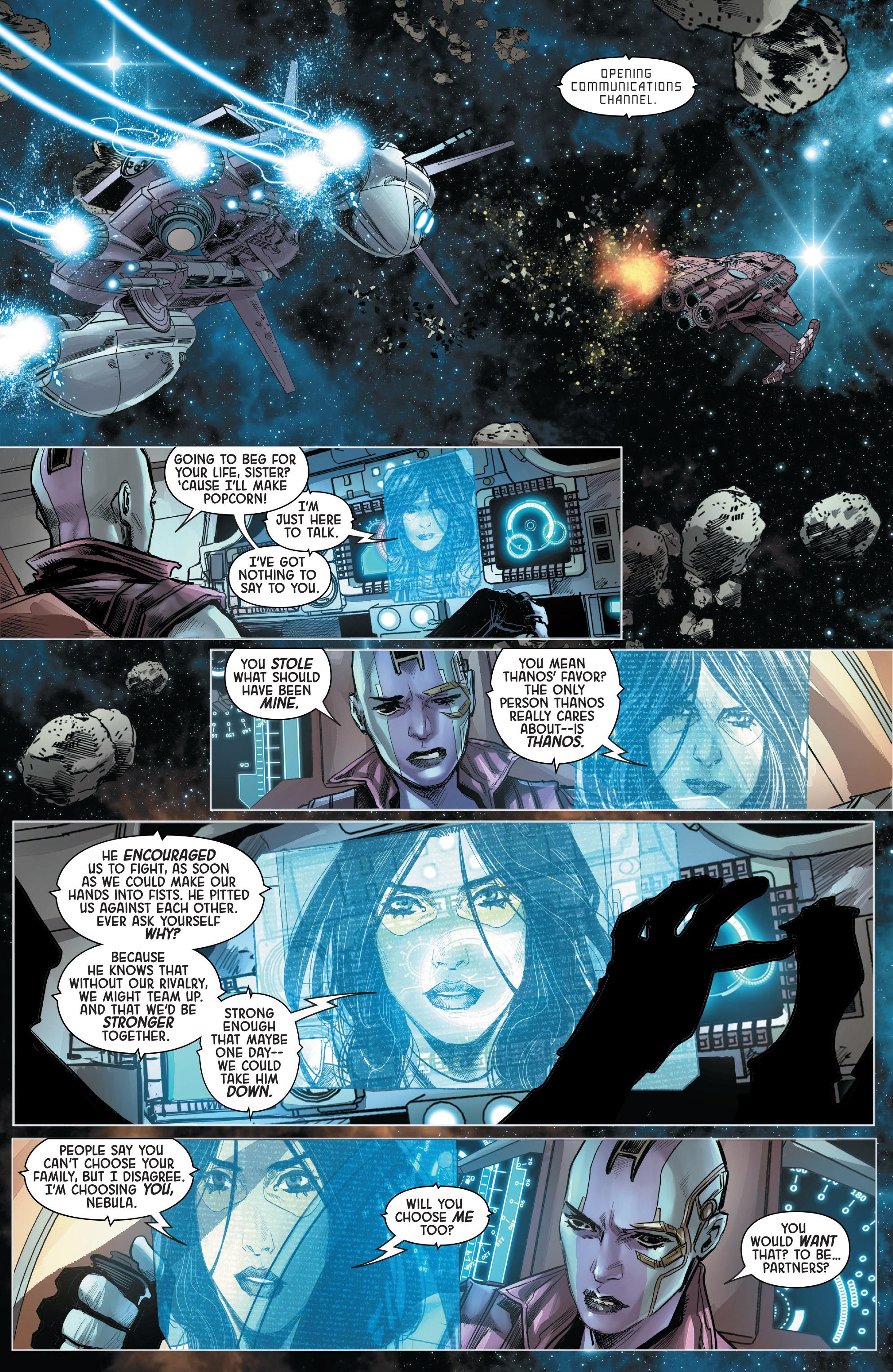 Read online Gamora comic -  Issue #5 - 18