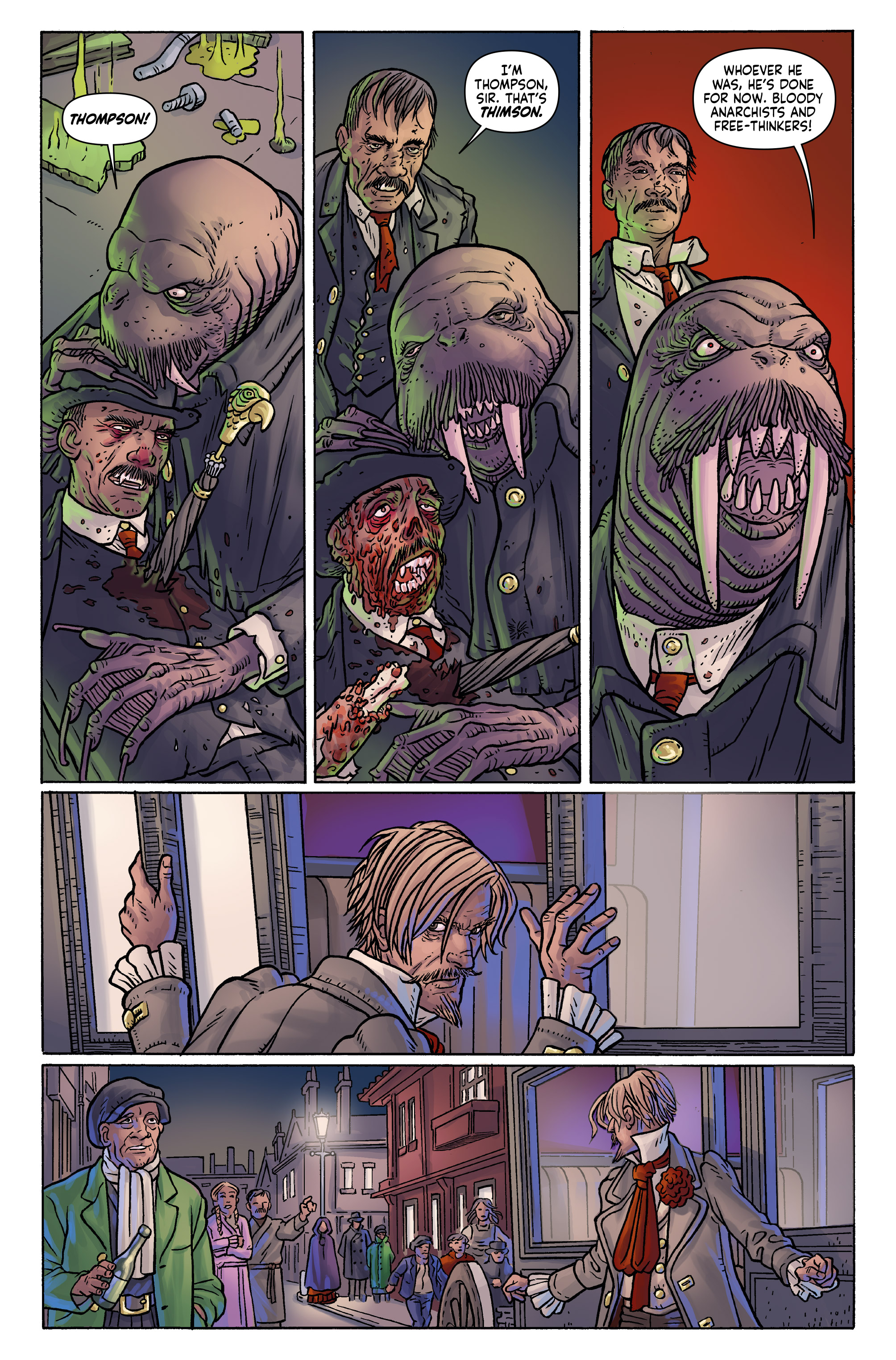 Read online Anno Dracula comic -  Issue #3 - 12
