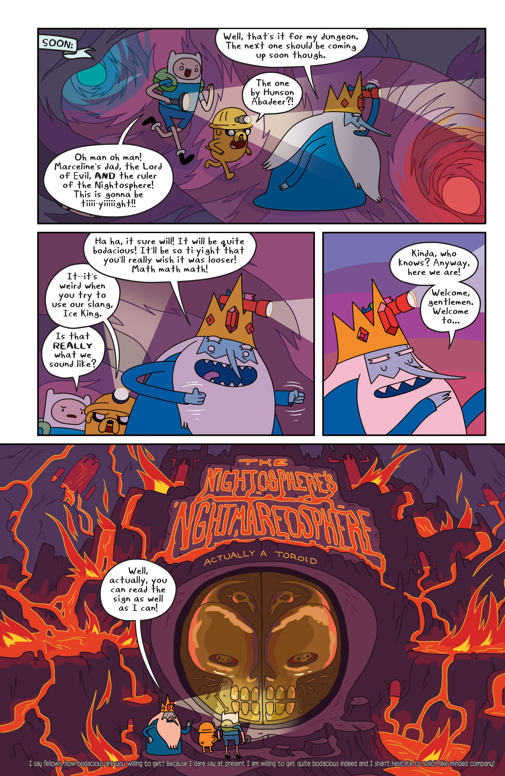 Read online Adventure Time comic -  Issue #17 - 14
