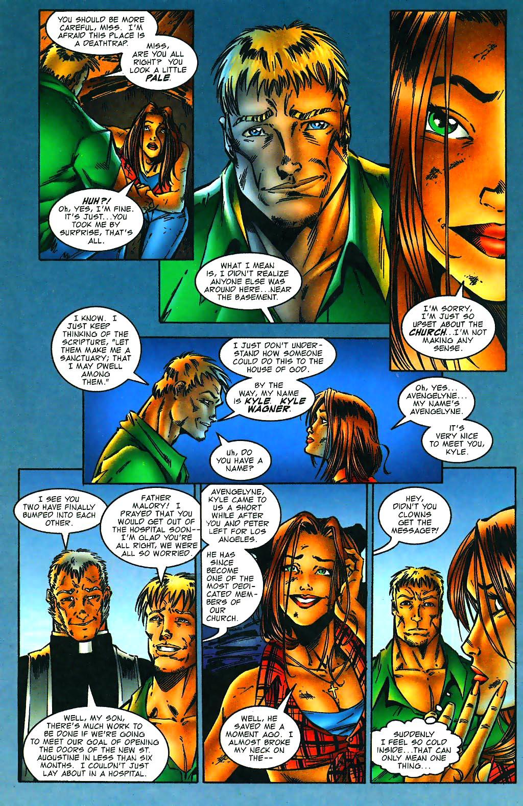 Read online Avengelyne (1996) comic -  Issue #1 - 8