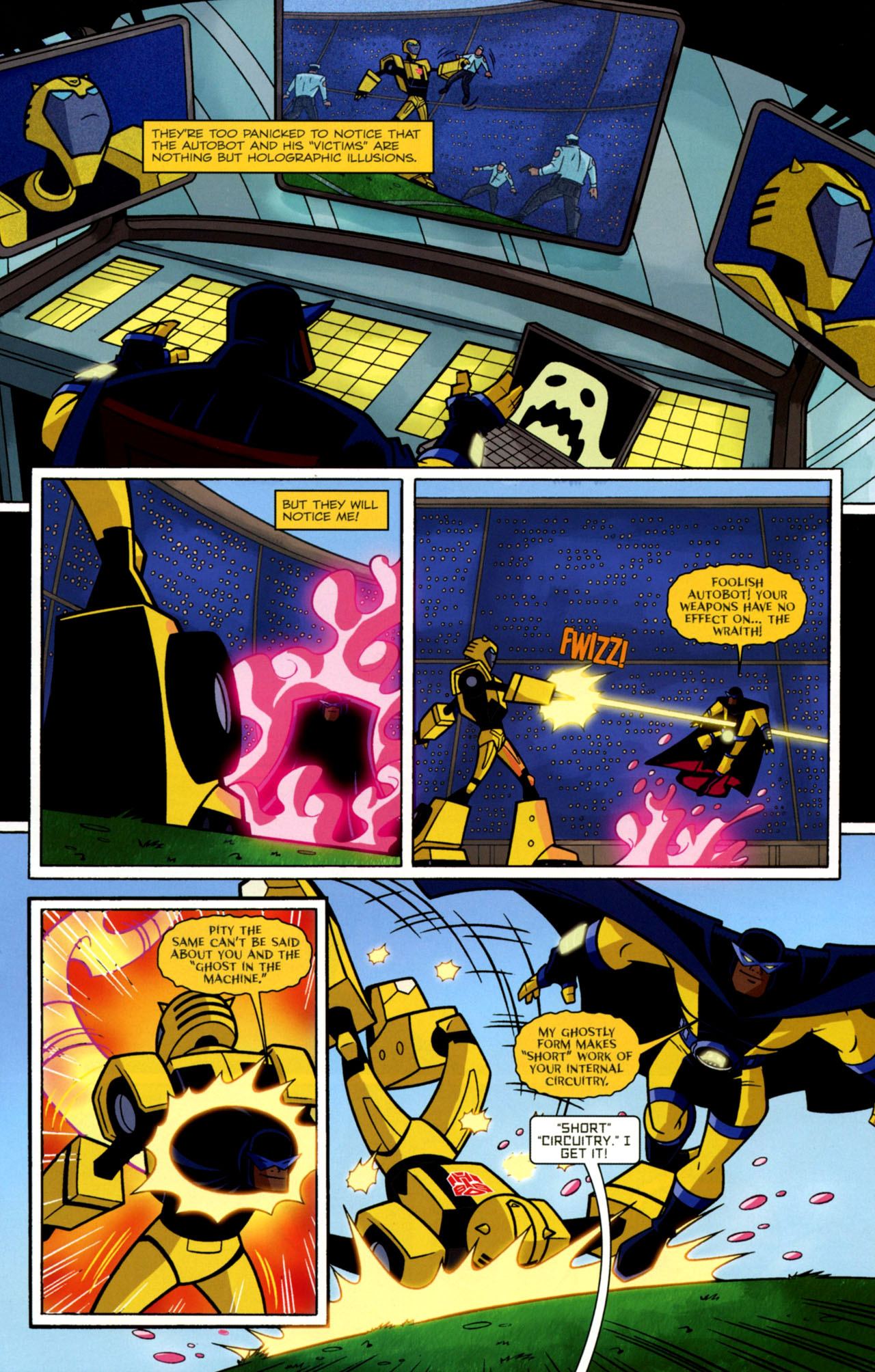 Read online Transformers Animated: The Arrival comic -  Issue #2 - 18