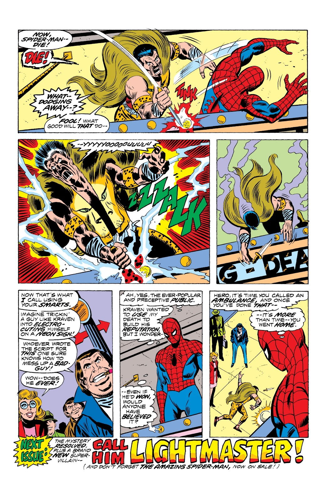 Read online Marvel Masterworks: The Spectacular Spider-Man comic -  Issue # TPB (Part 1) - 43