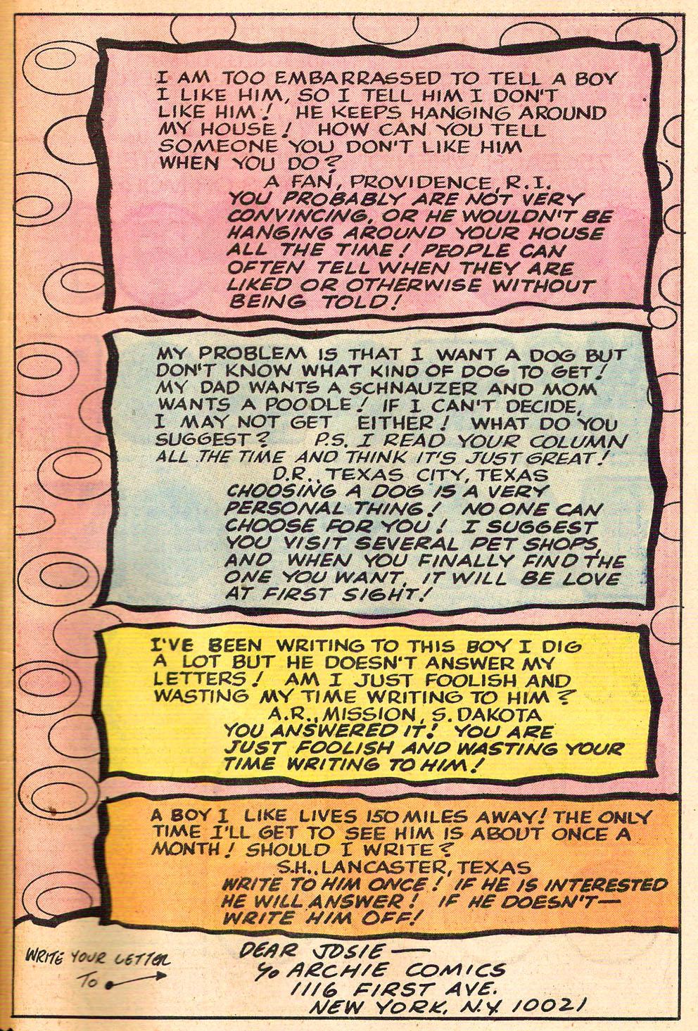 Read online She's Josie comic -  Issue #67 - 49