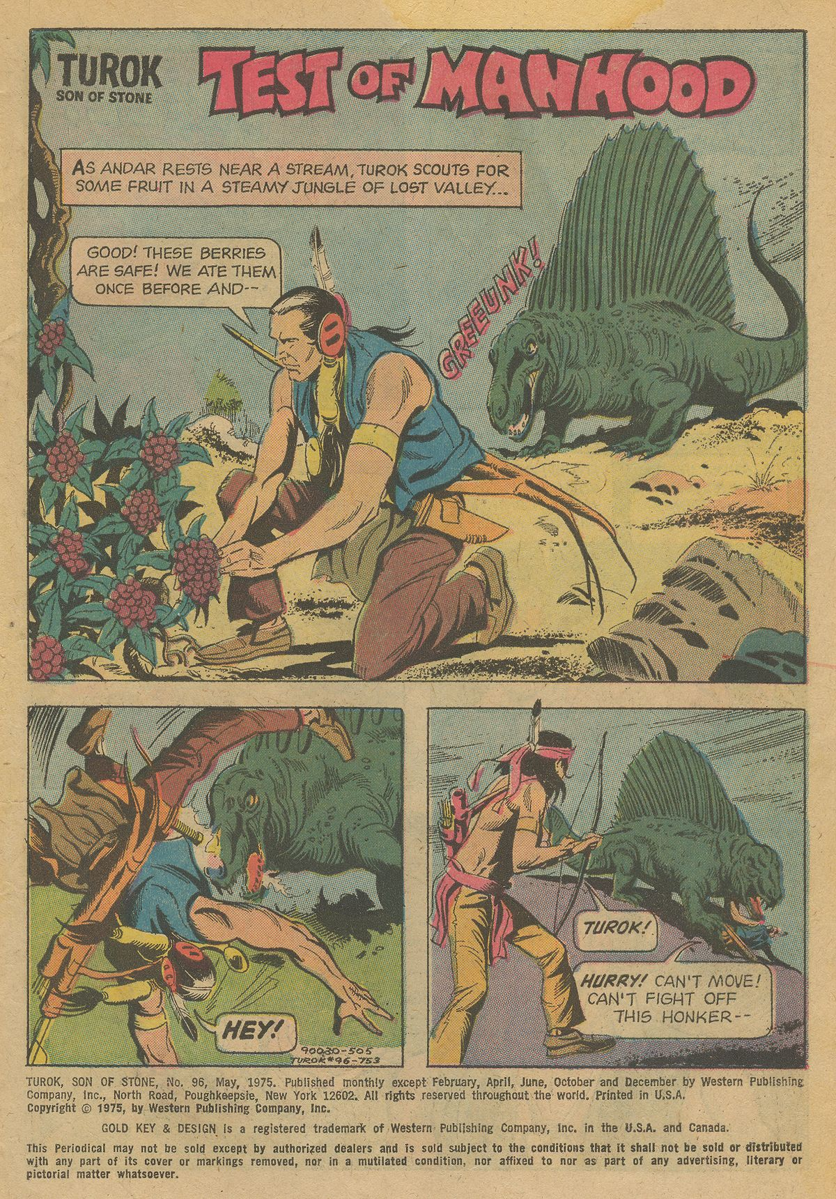 Read online Turok, Son of Stone comic -  Issue #96 - 3