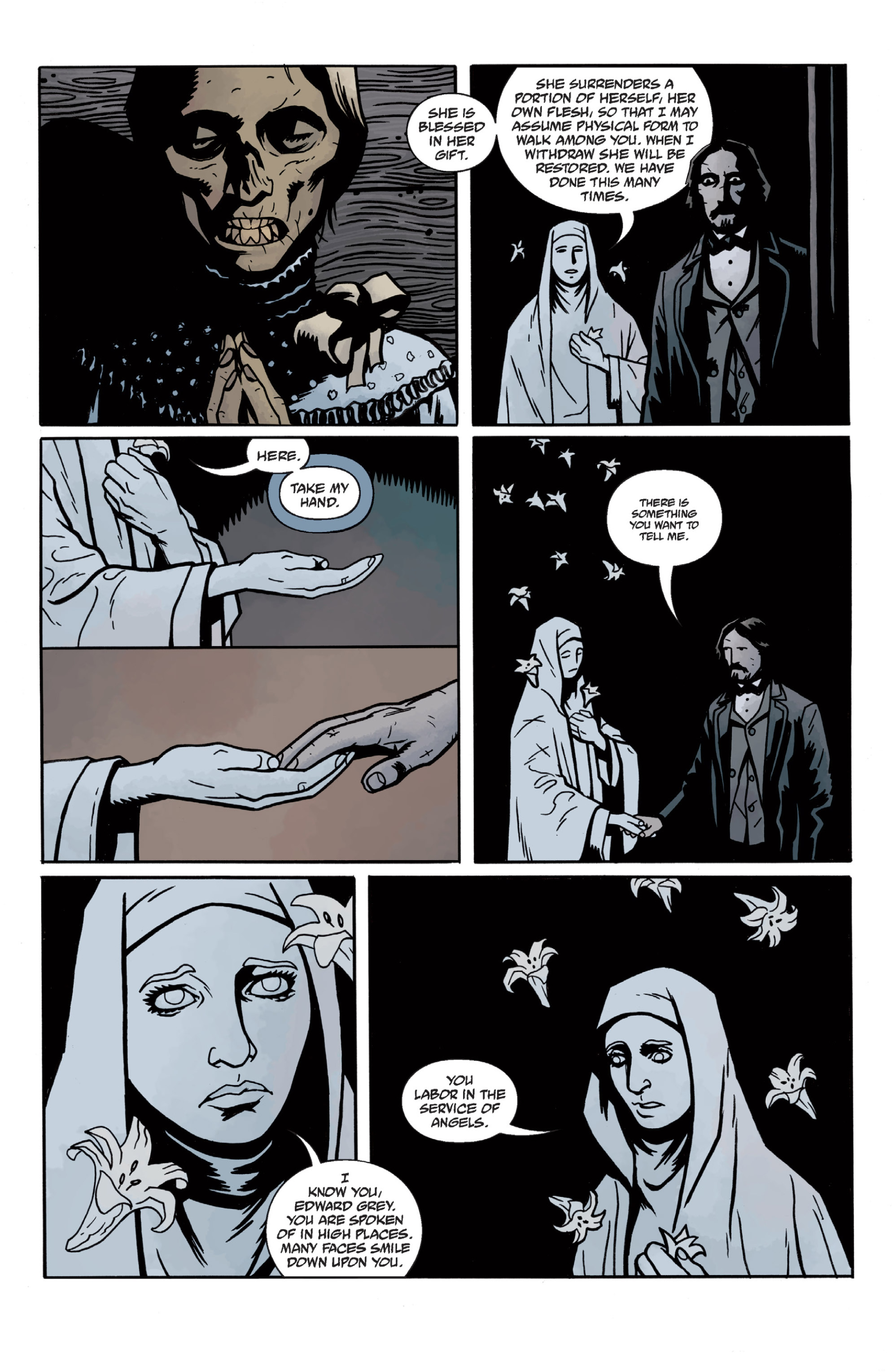 Read online Sir Edward Grey, Witchfinder: In the Service of Angels comic -  Issue # TPB - 47