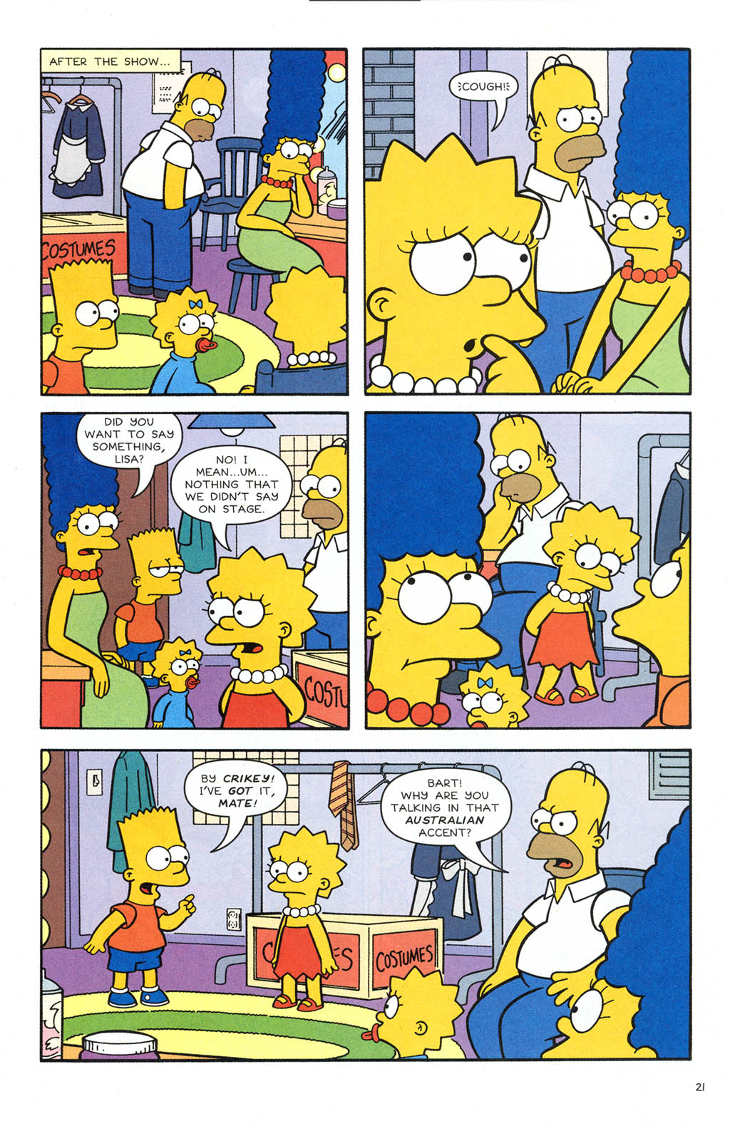 Read online Simpsons Comics comic -  Issue #106 - 22