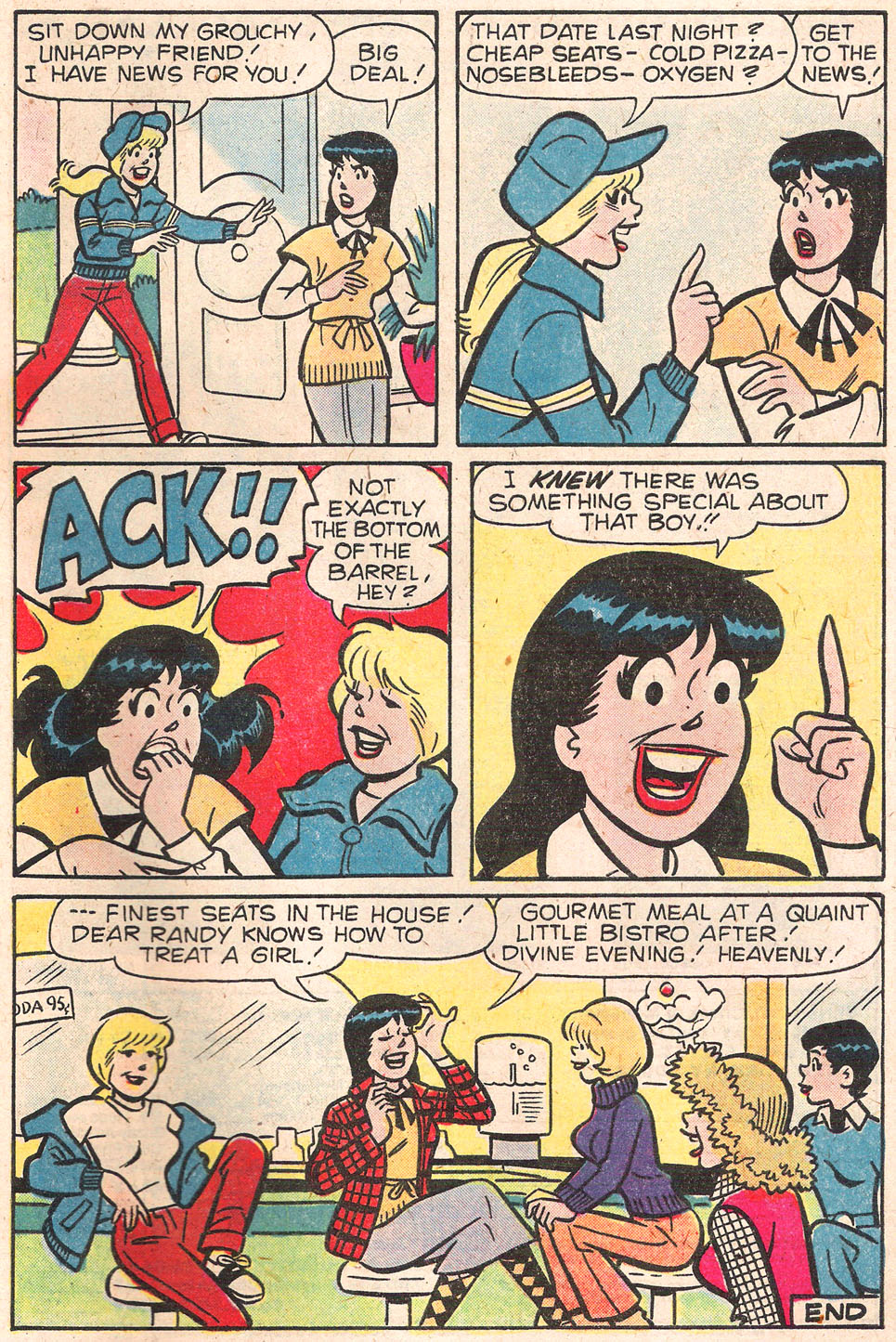 Read online Archie's Girls Betty and Veronica comic -  Issue #279 - 33